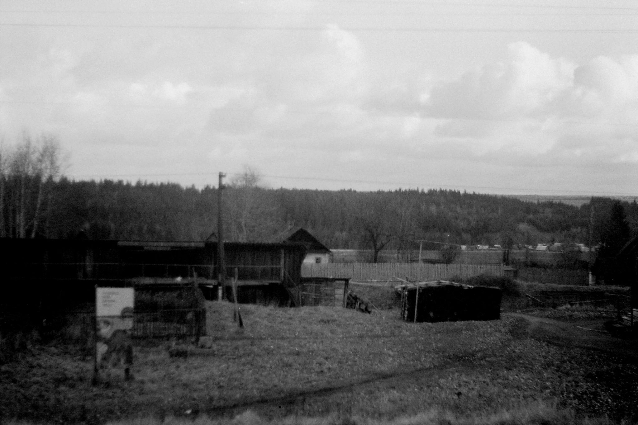 19/10/1988: 21: from Siberian Express between Balezino and Perm