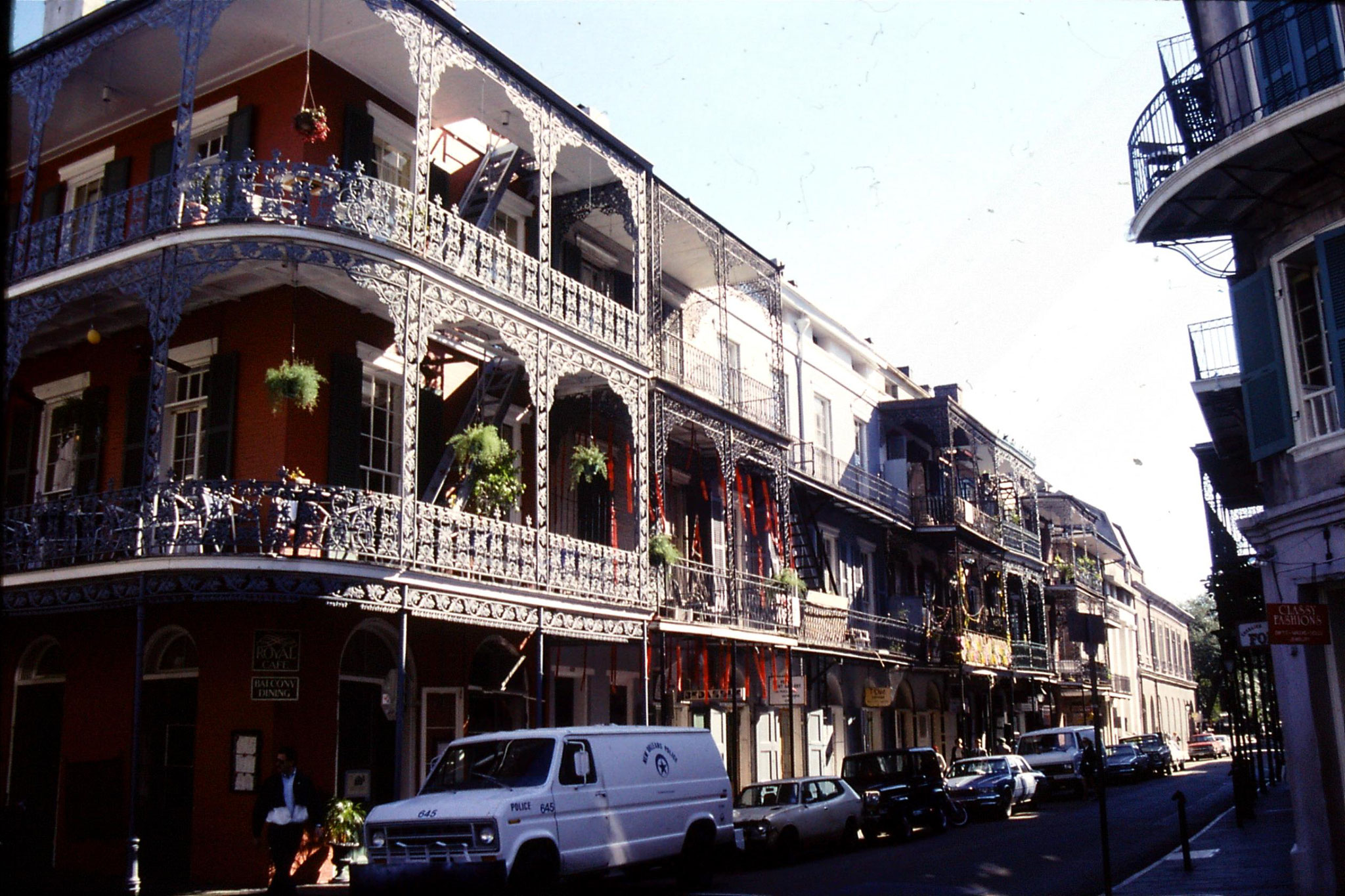 16/1/1991: 5: Old Quarter of New Orleans