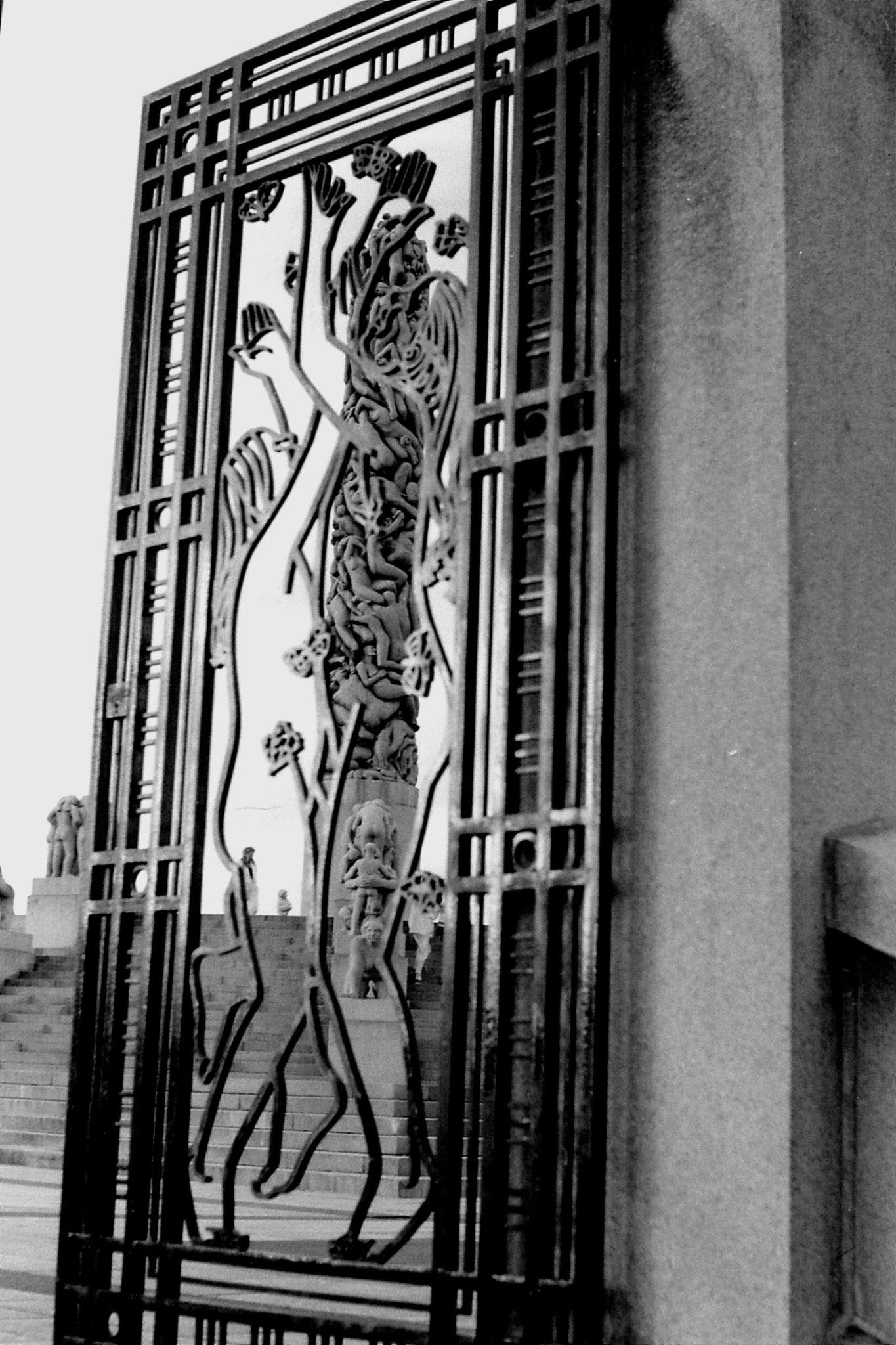 17/9/1988: 13: Vigeland sculpture park
