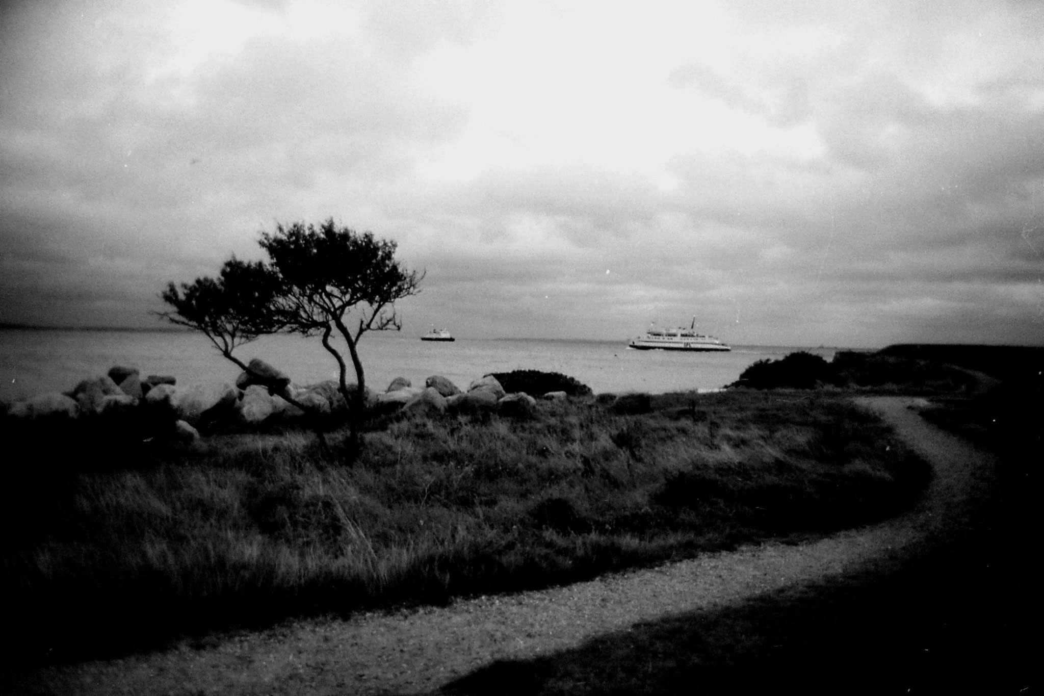 19/9/1988: sea at Helsingor