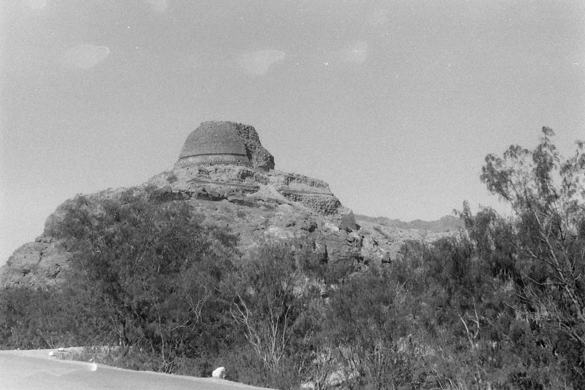 6/11/1989: 26: Landi Kotal stupa