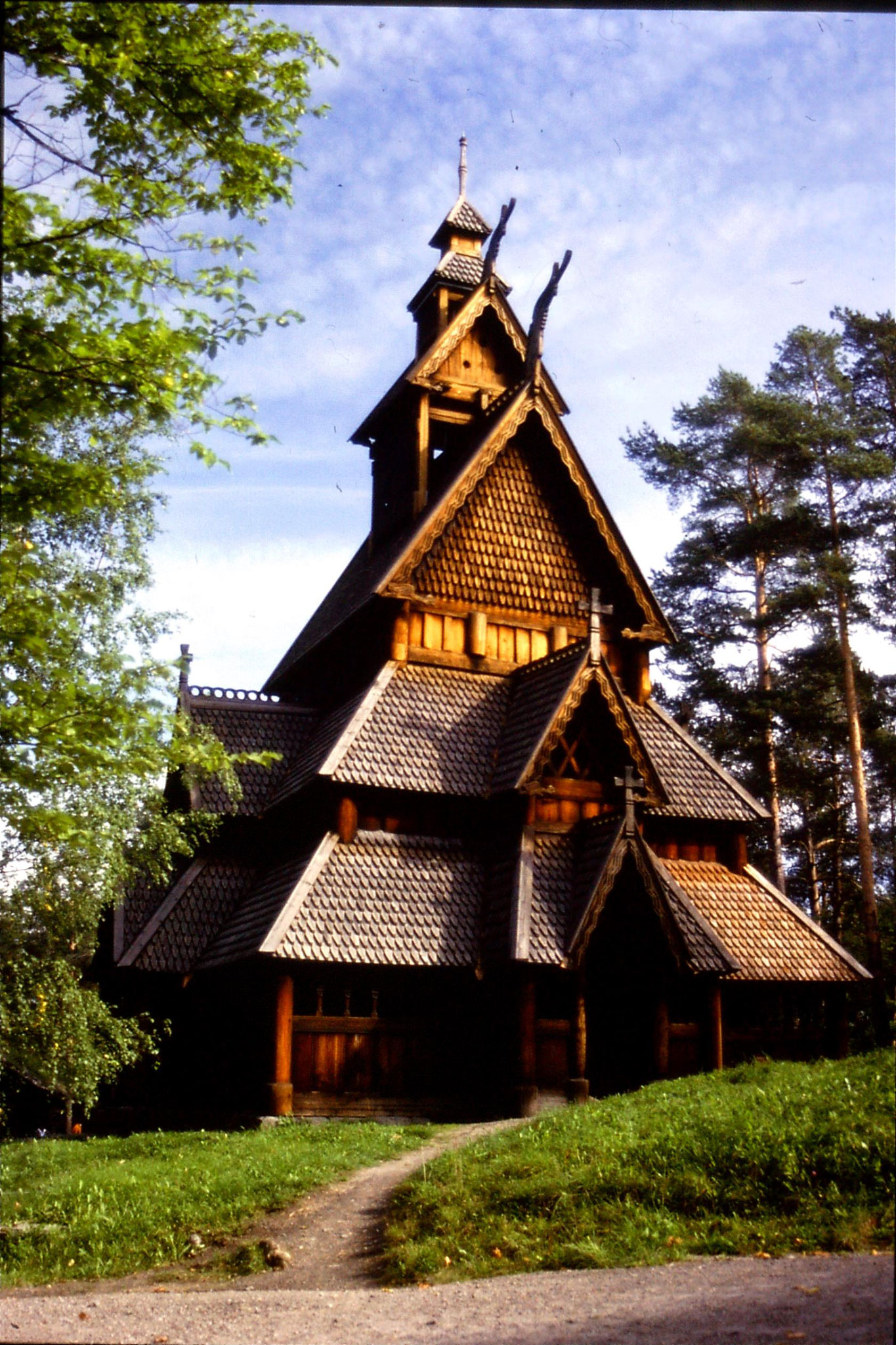 16/9/1988: 9: Oslo Folk Museum stave church