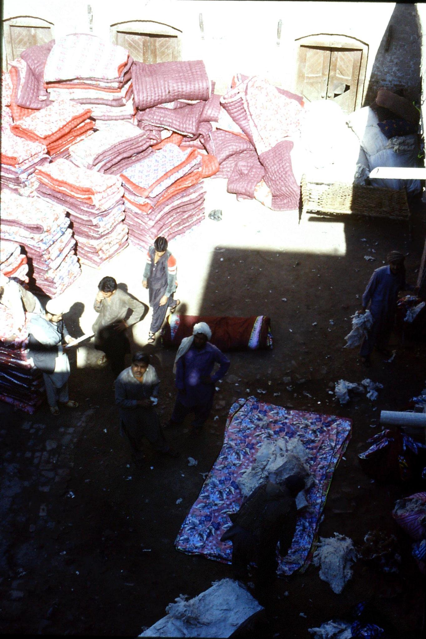 5/11/1989: 12: Peshawar, quilt factory