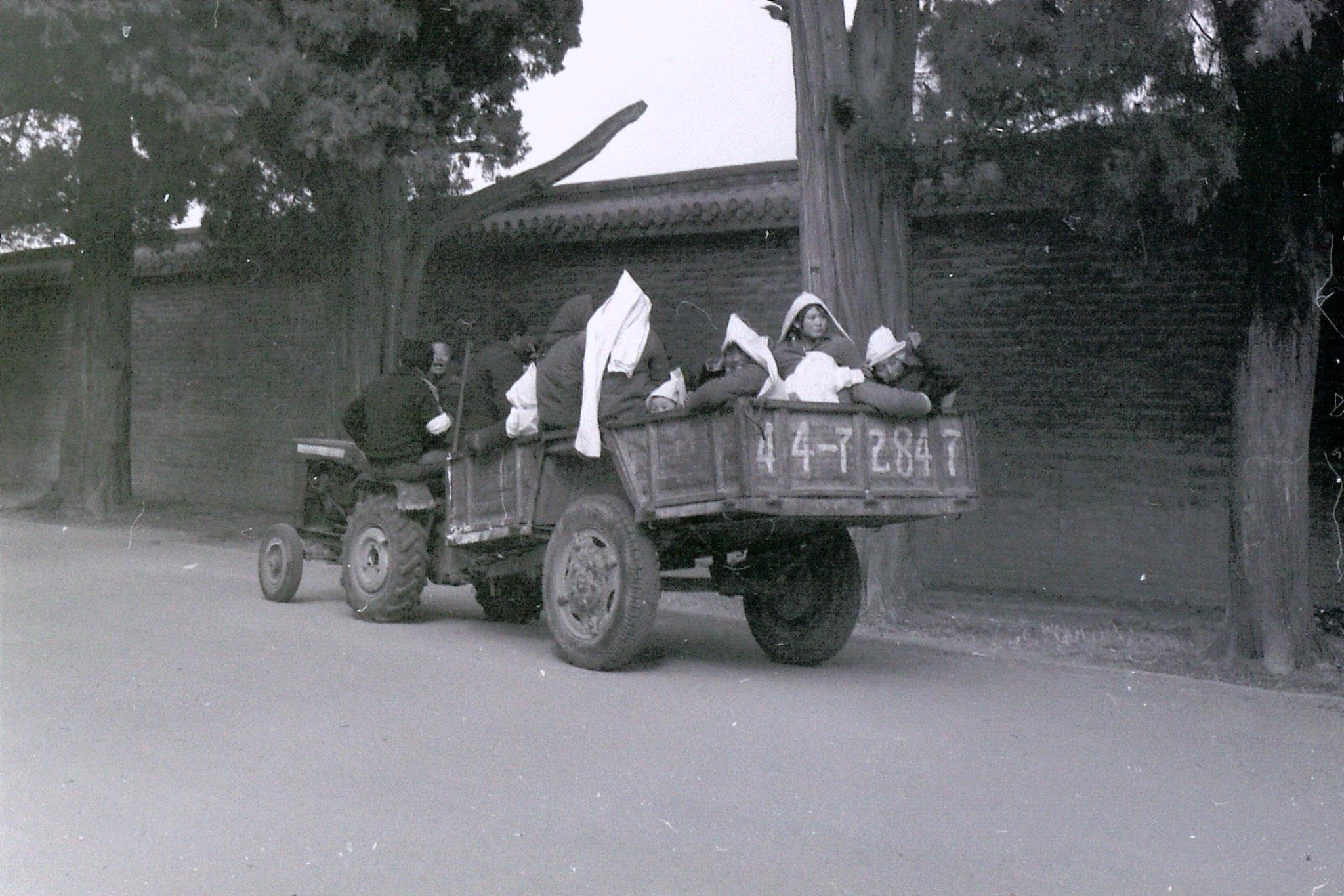 21/2/1989: 29: Qufu funeral procession