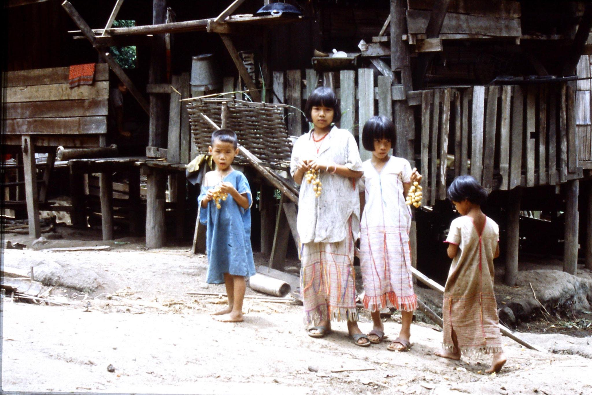 12/6/1990: 10: Trek - Mae Mi village (Karen)