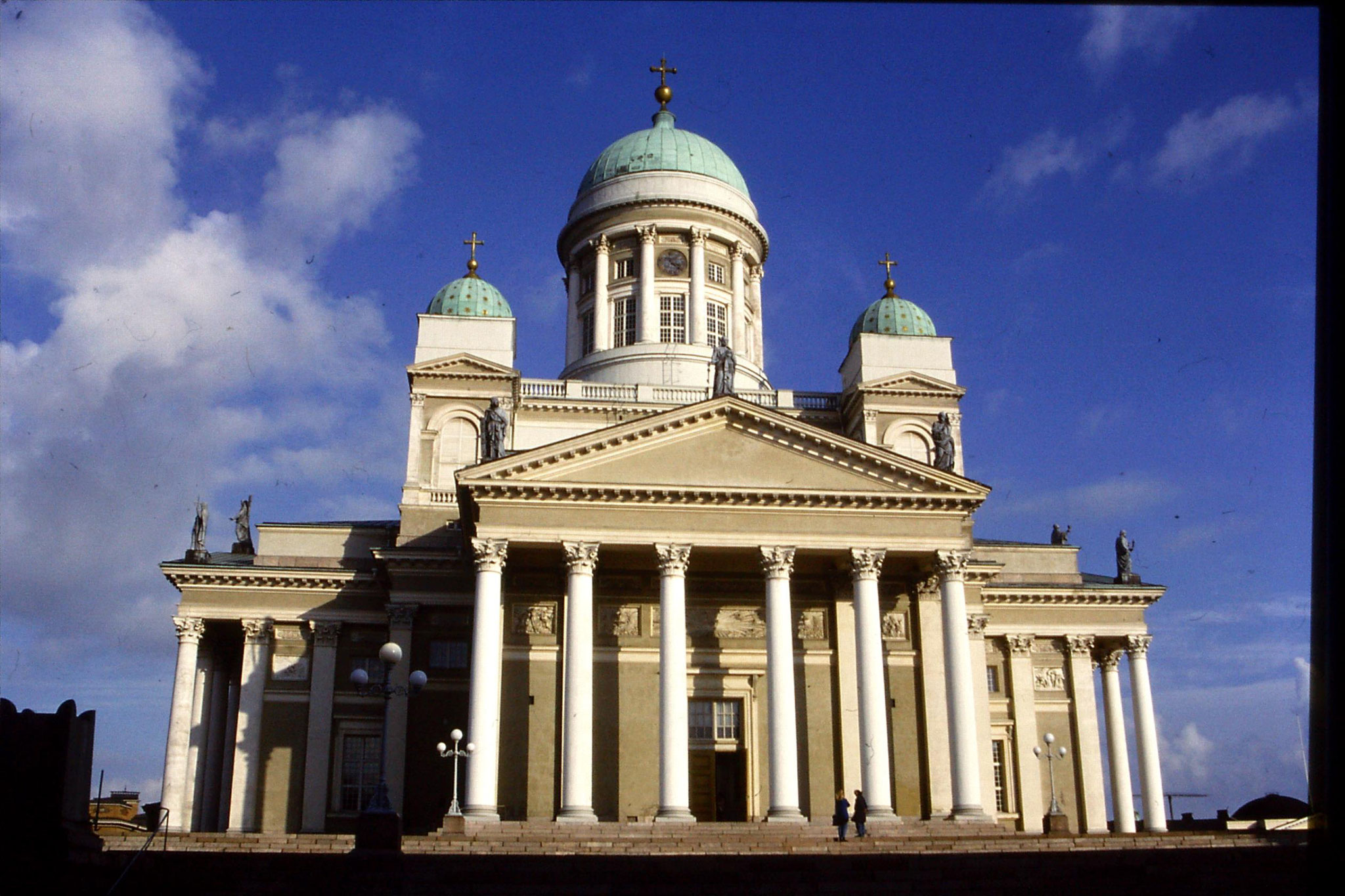 29/9/1988: 31: Lutheran cathedral Helsinki