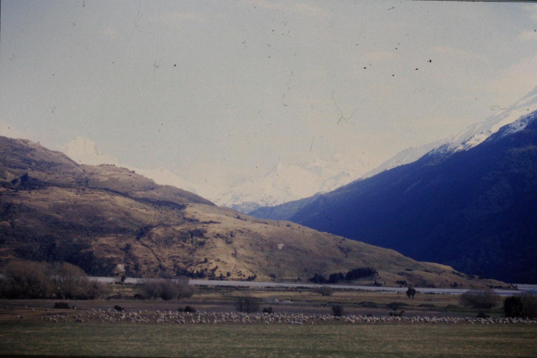 21/8/1990: 25: Wilkin Valley and Oblong Peak