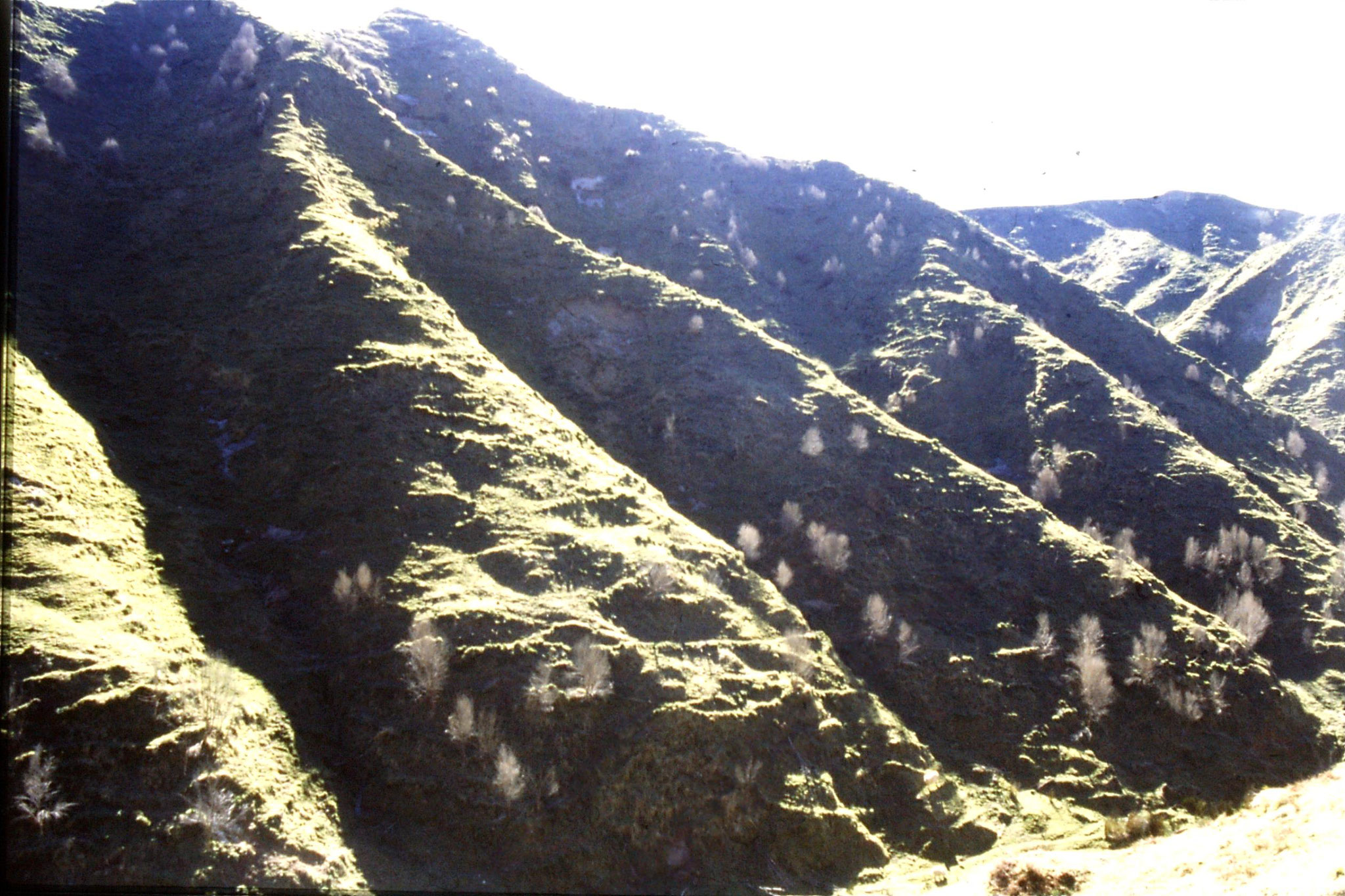 29/8/1990: 1: hills after Moki tunnel