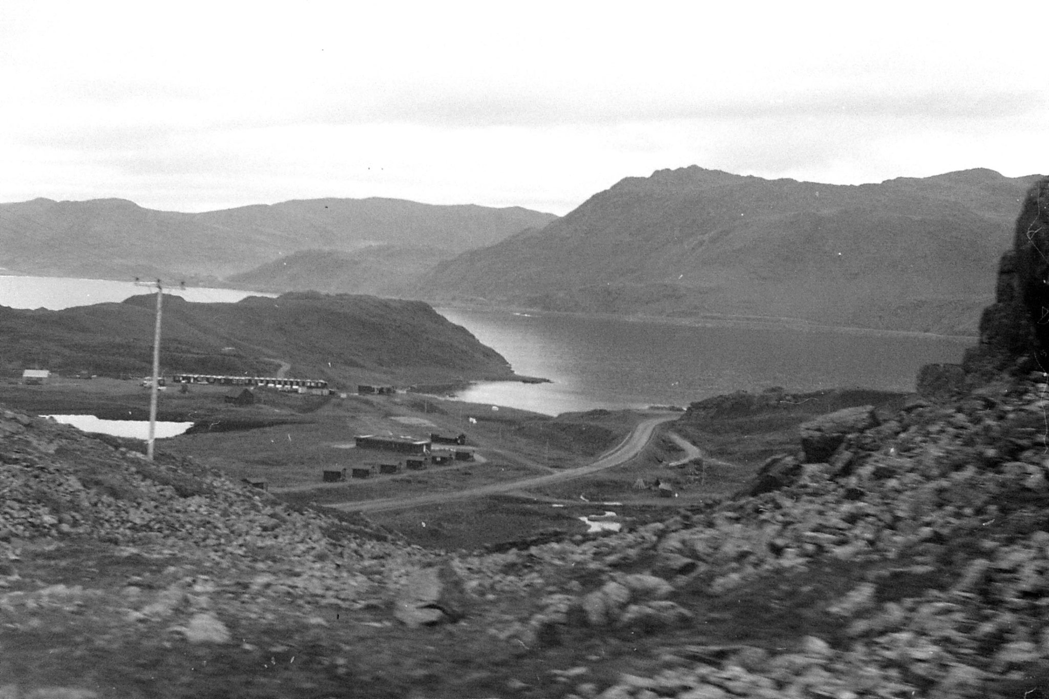 26/9/1988: 30: oil terminals at Honnigsvag