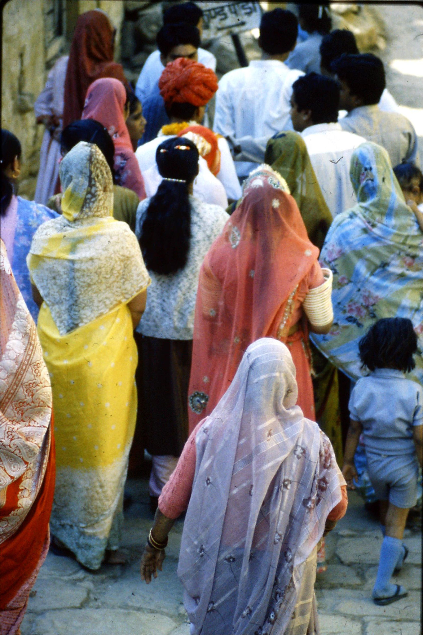 3/12/1989: 4: Jaisalmer wedding procession