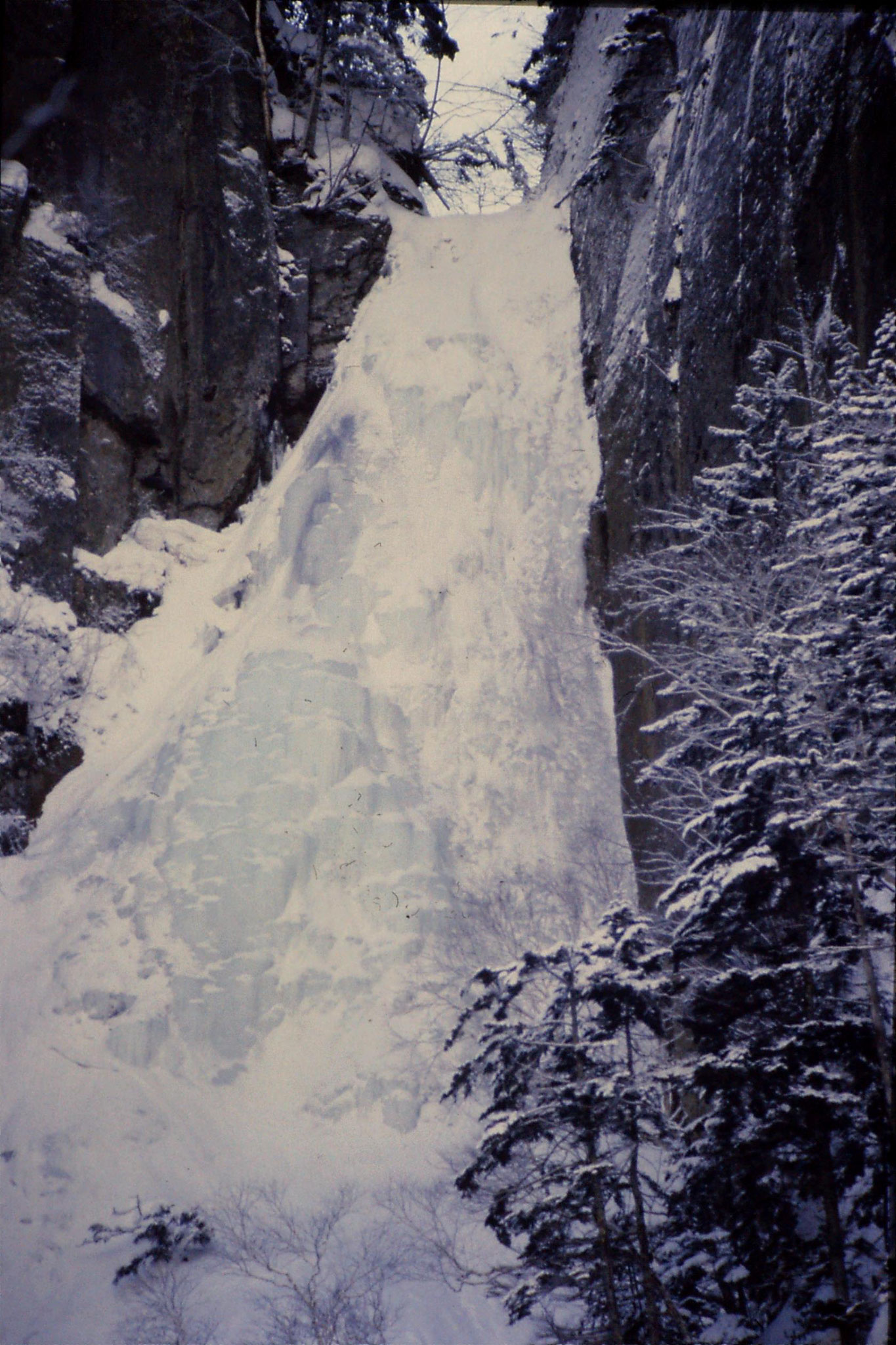 12/1/1989: 16: Sounkyo Onsen Gorge, Teusho-no-iwa
