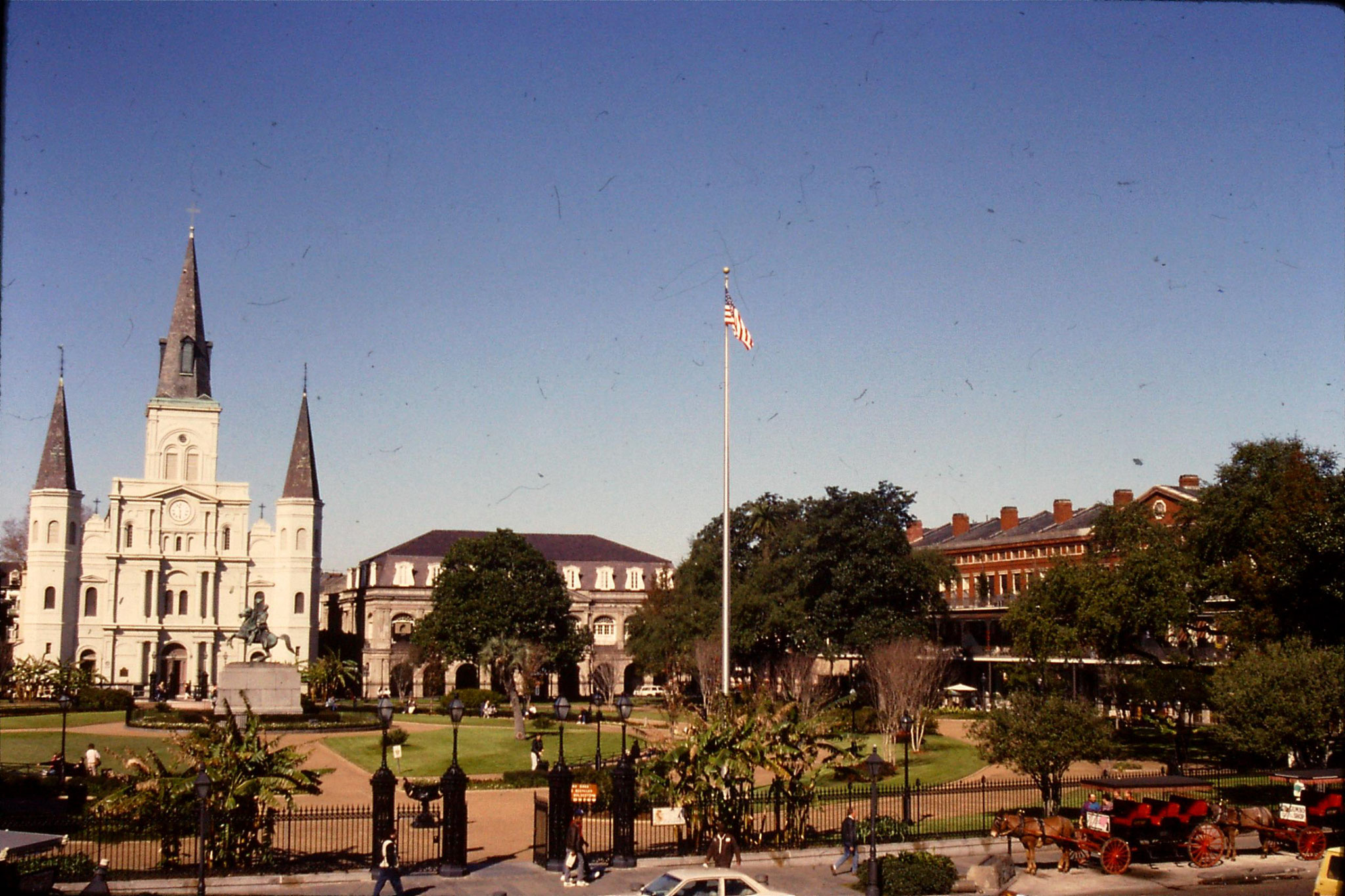 16/1/1991: 8: Old Quarter of New Orleans