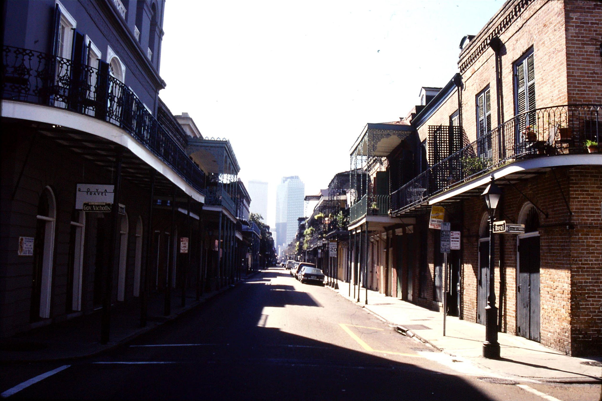 16/1/1991: 10: Old Quarter of New Orleans