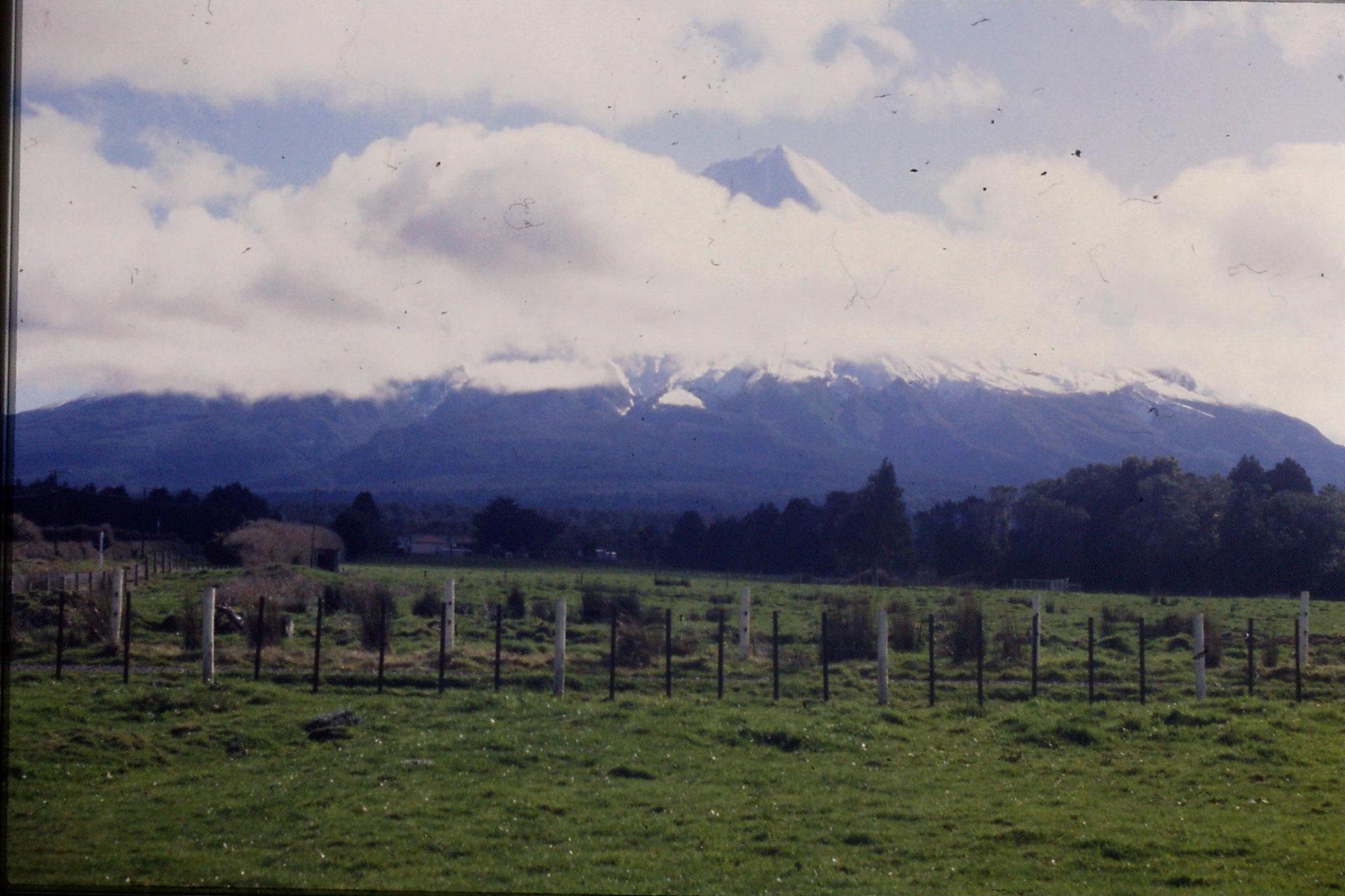 28/8/1990: 17: Mt Egmont from west of Stratford