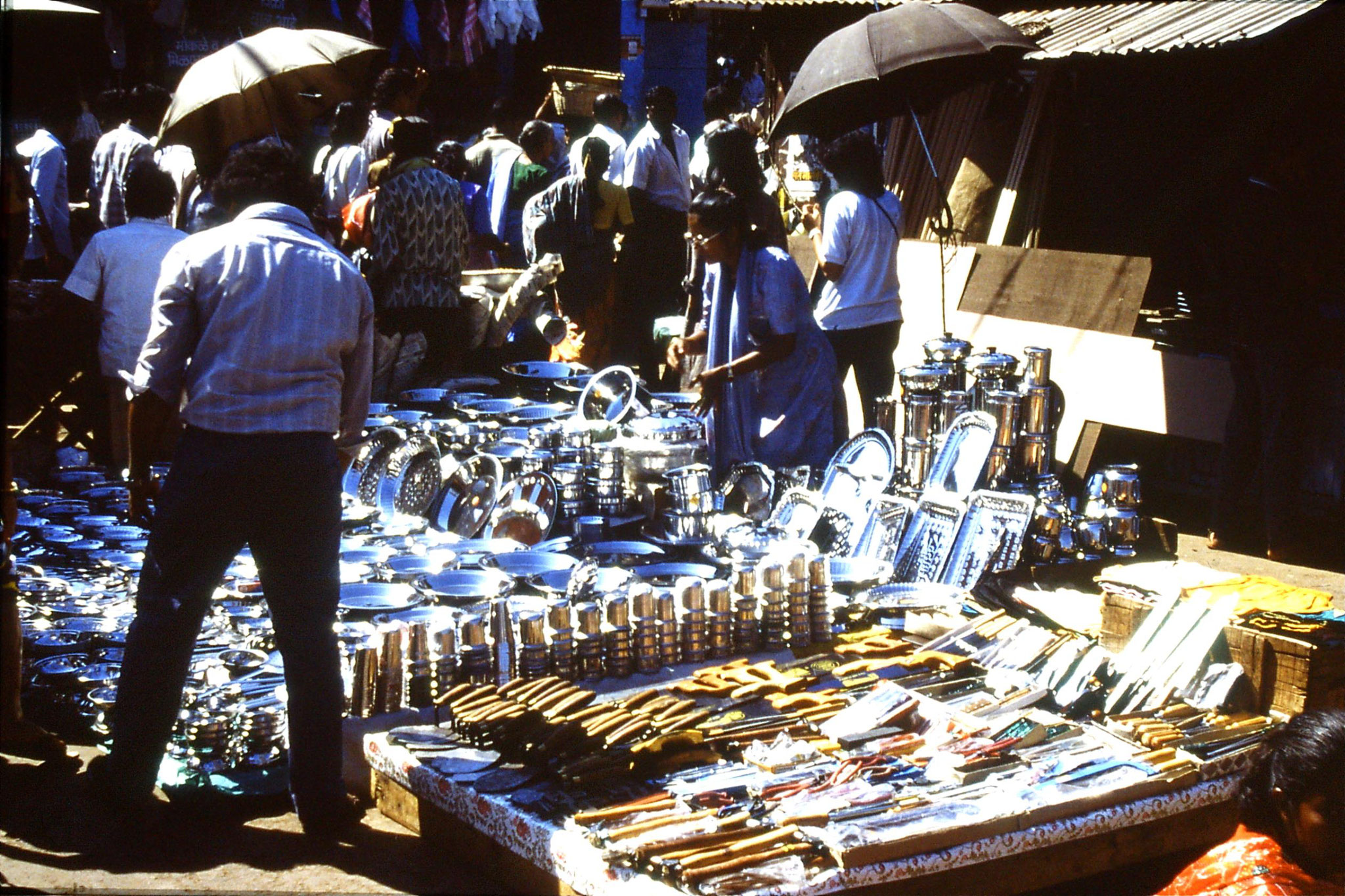 6/1/1990: 2: Mapusa market
