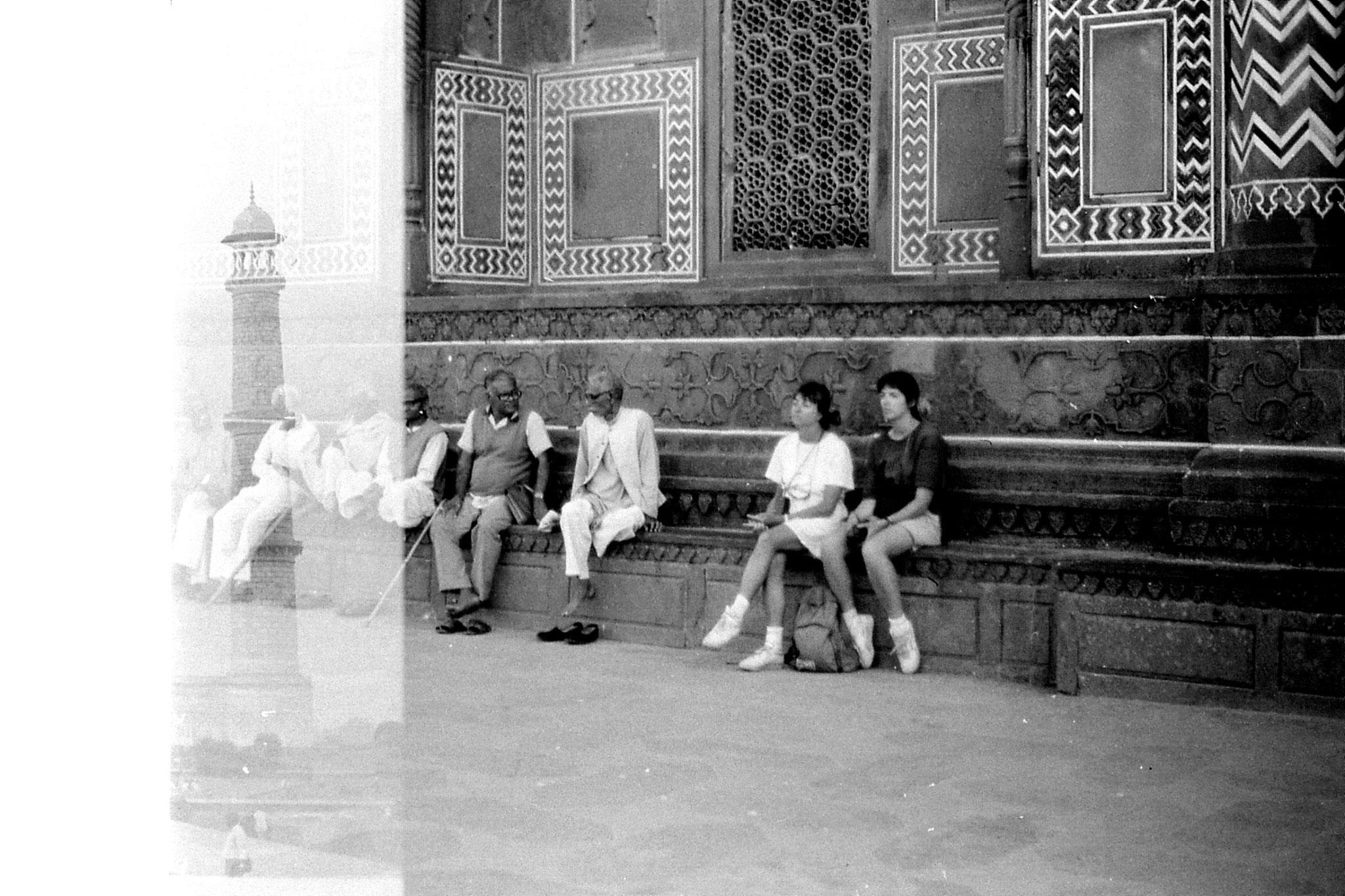 30/3/90: 33: Agra Taj Mahal