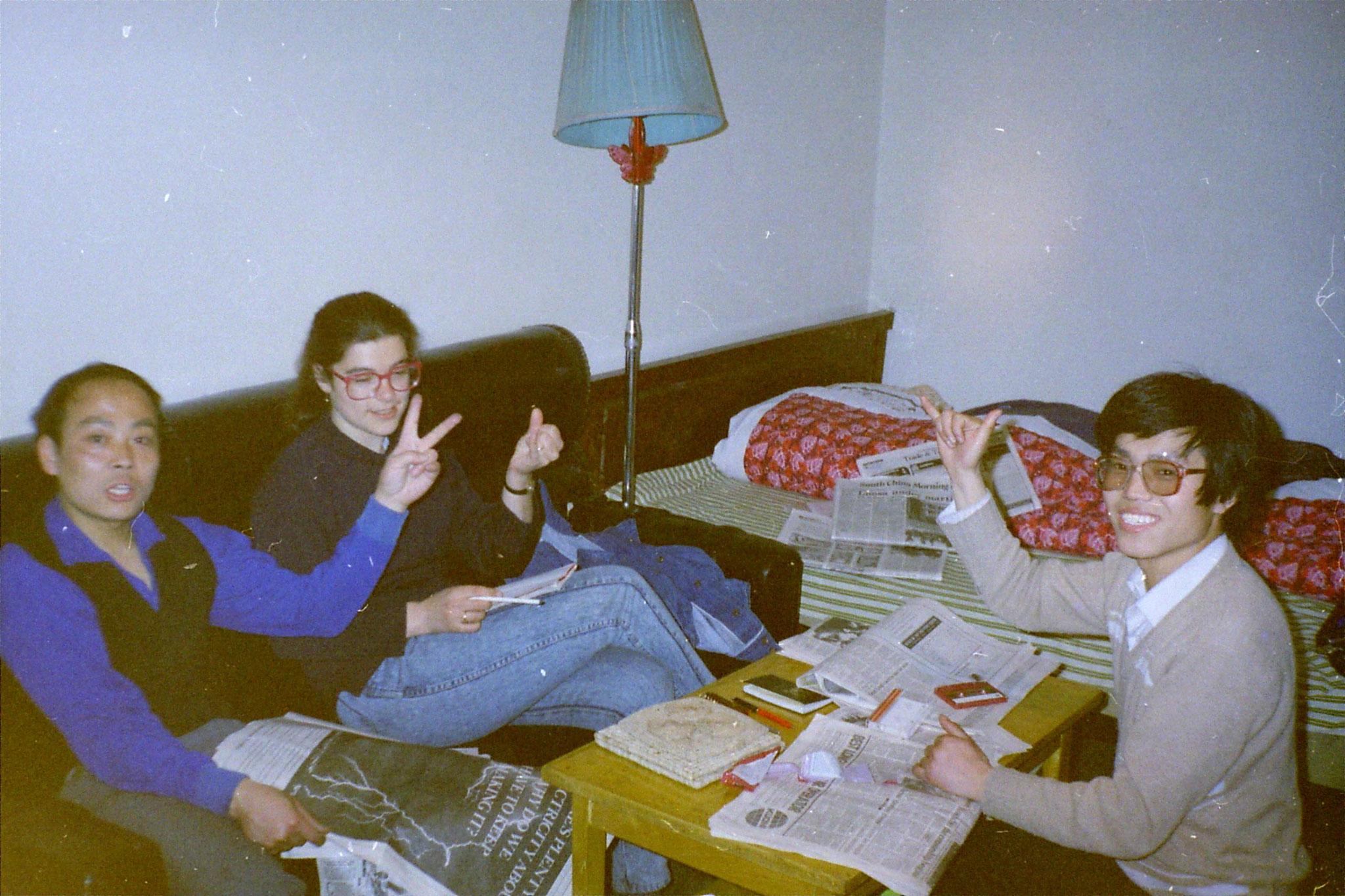 12/3/1989: 24: Yeh Jing Tow's flat in Beijing