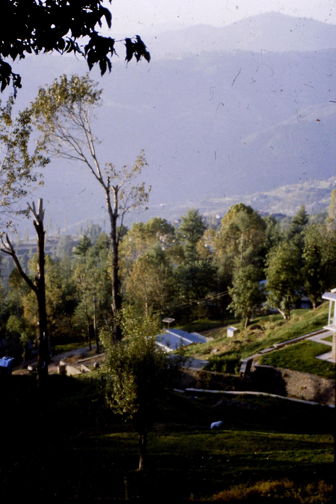 1/10/1989: 11: view from Murree