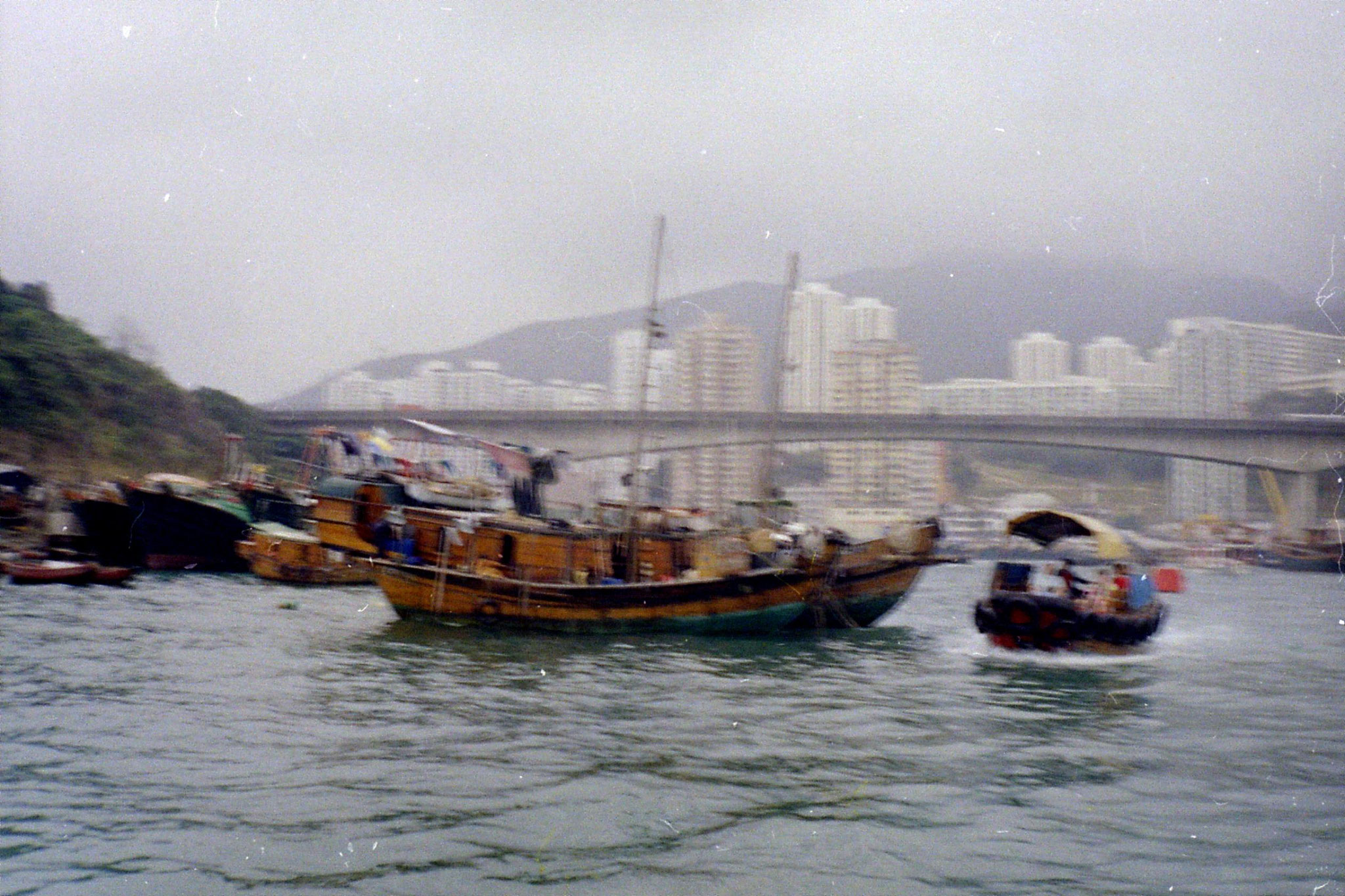 1/4/1989: 28: Hong Kong Aberdeen Harbour