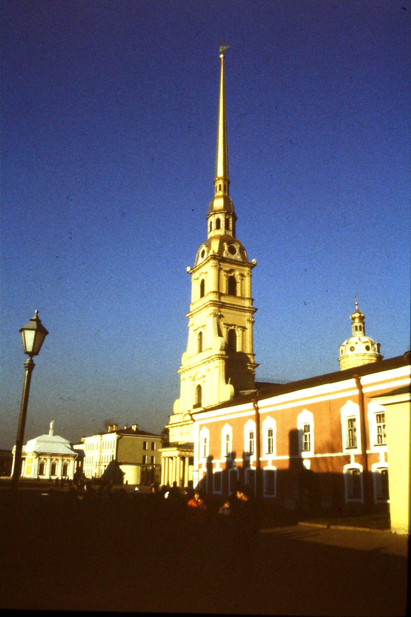 13/10/1988: 25:  Leningrad Peter & Paul fortress