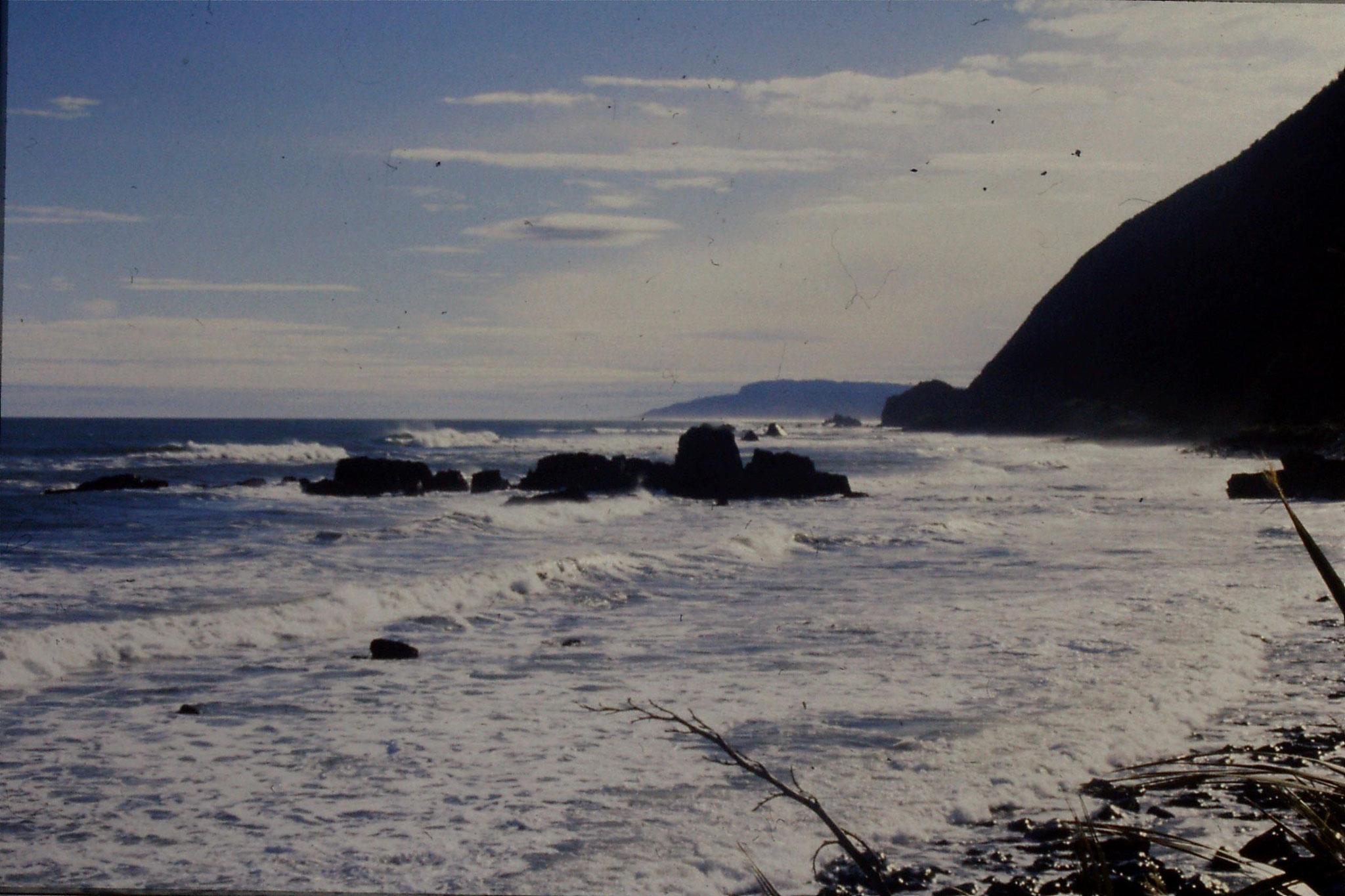 22/8/1990: 39: Motukiekie rocks