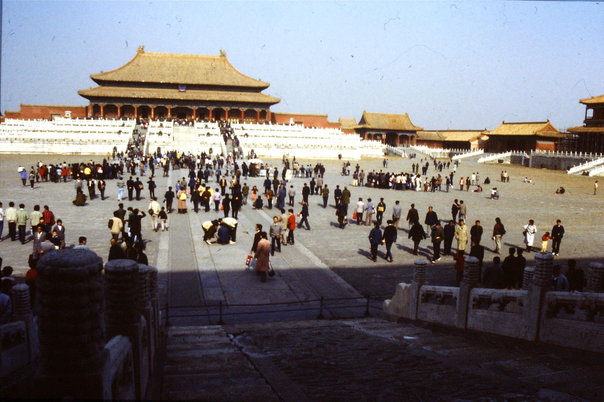 30/10/1988: 28: Forbidden City, Hall of Supreme Harmony