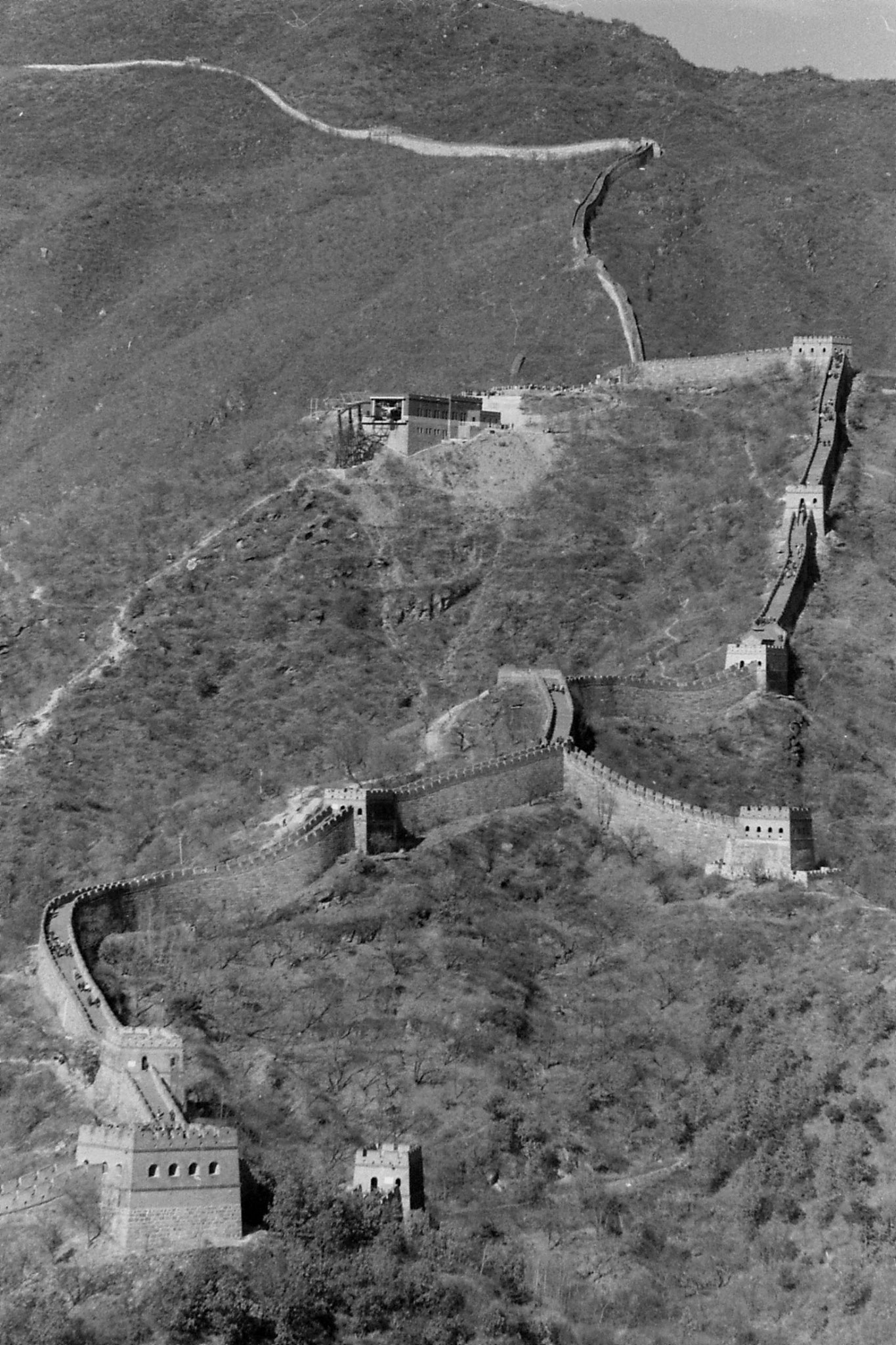 13/11/1988: 12: Great Wall at Mutianyu
