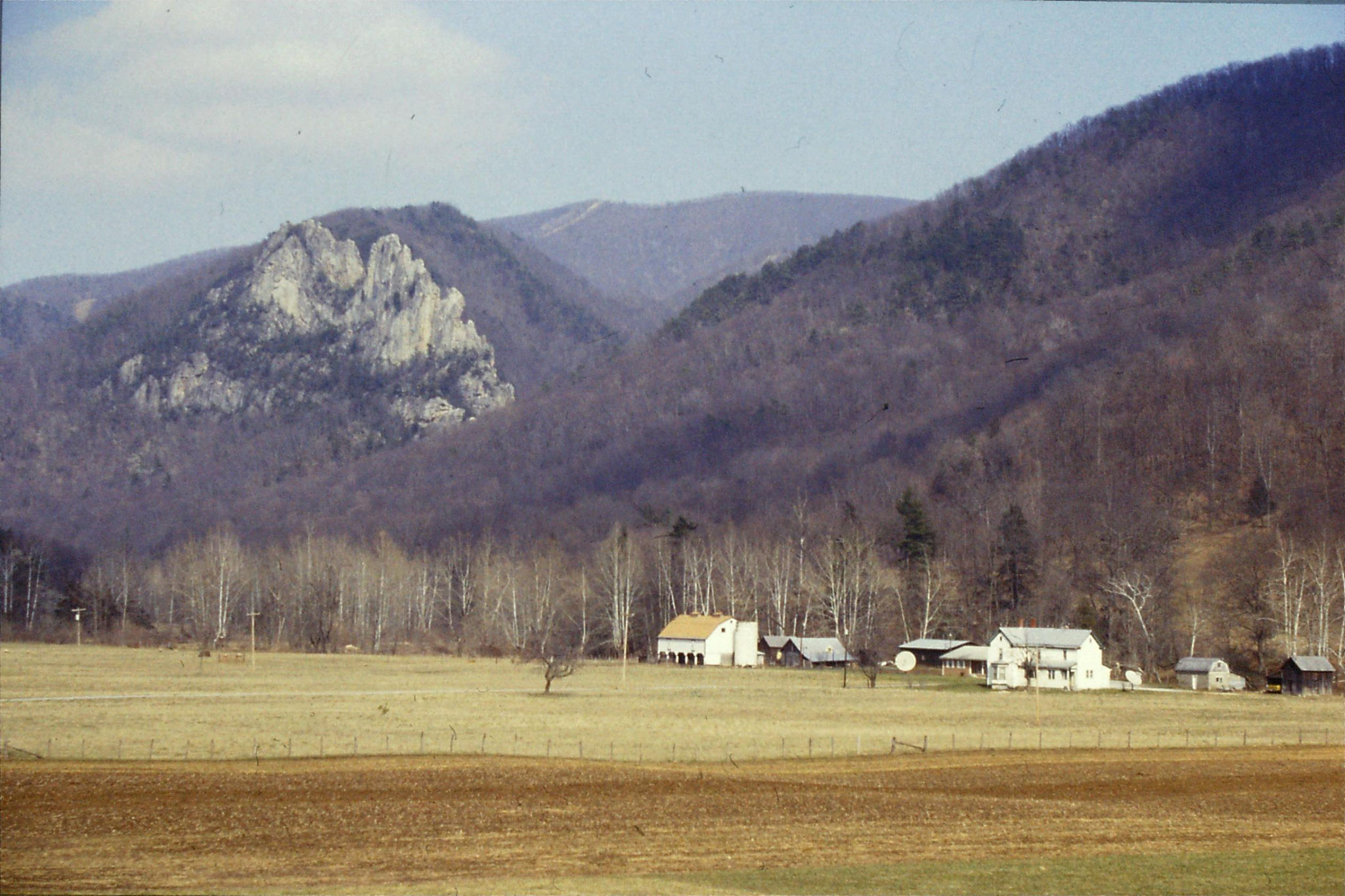 20/3/1991: 3: Seneca Rocks