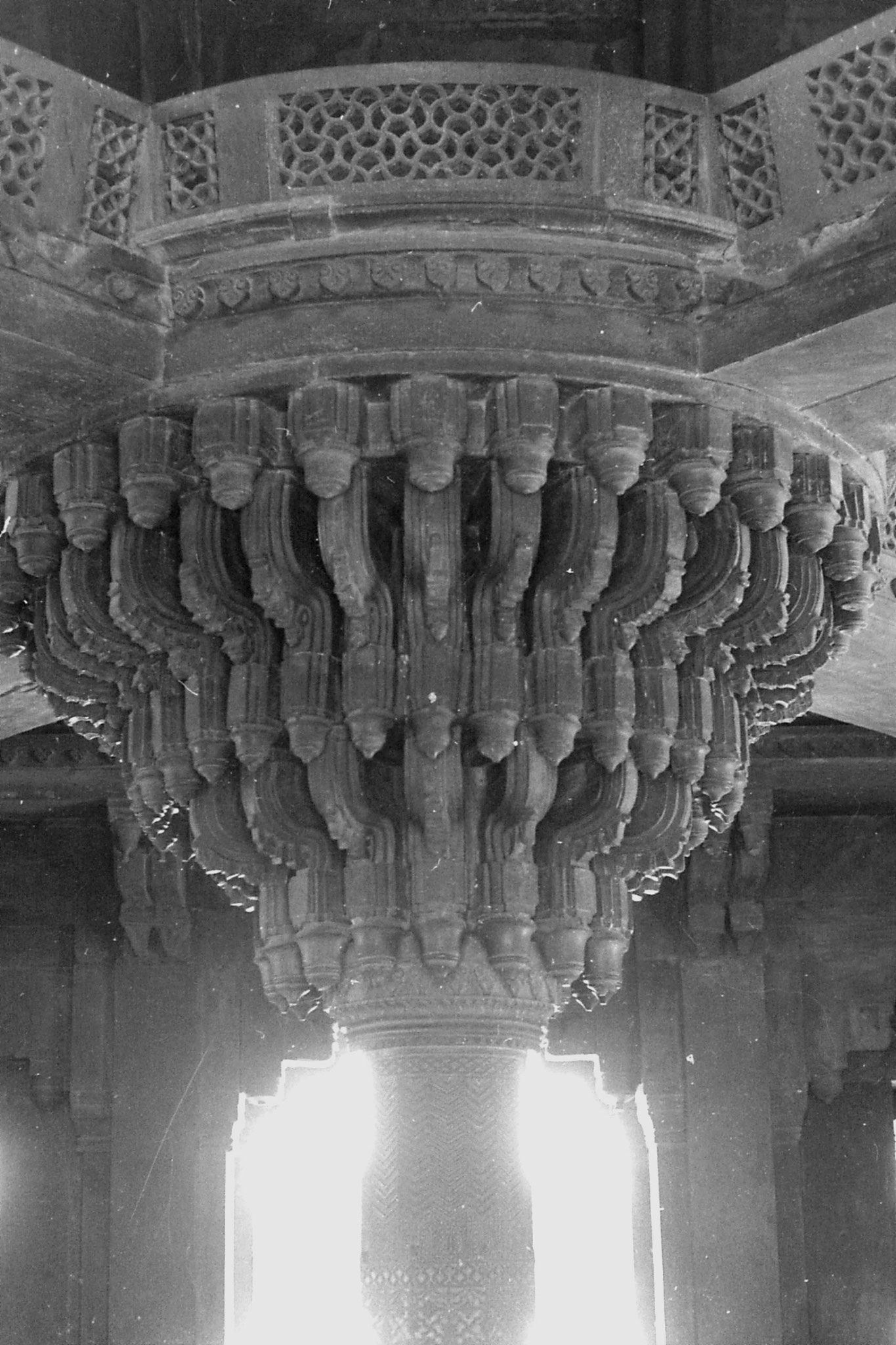 31/3/1990: 1: Fatehpur Sikri: Diwan-i-Khan