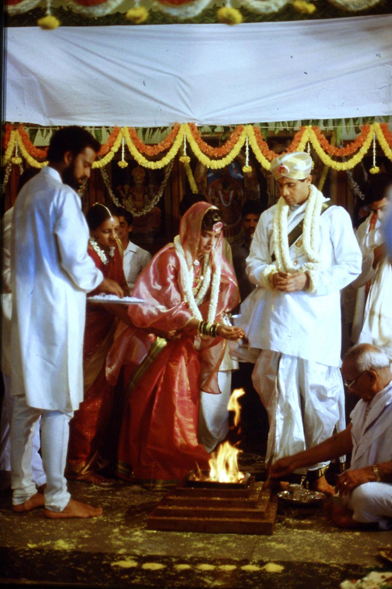 108/24: 18/3/1990 Bangalore wedding ceremony