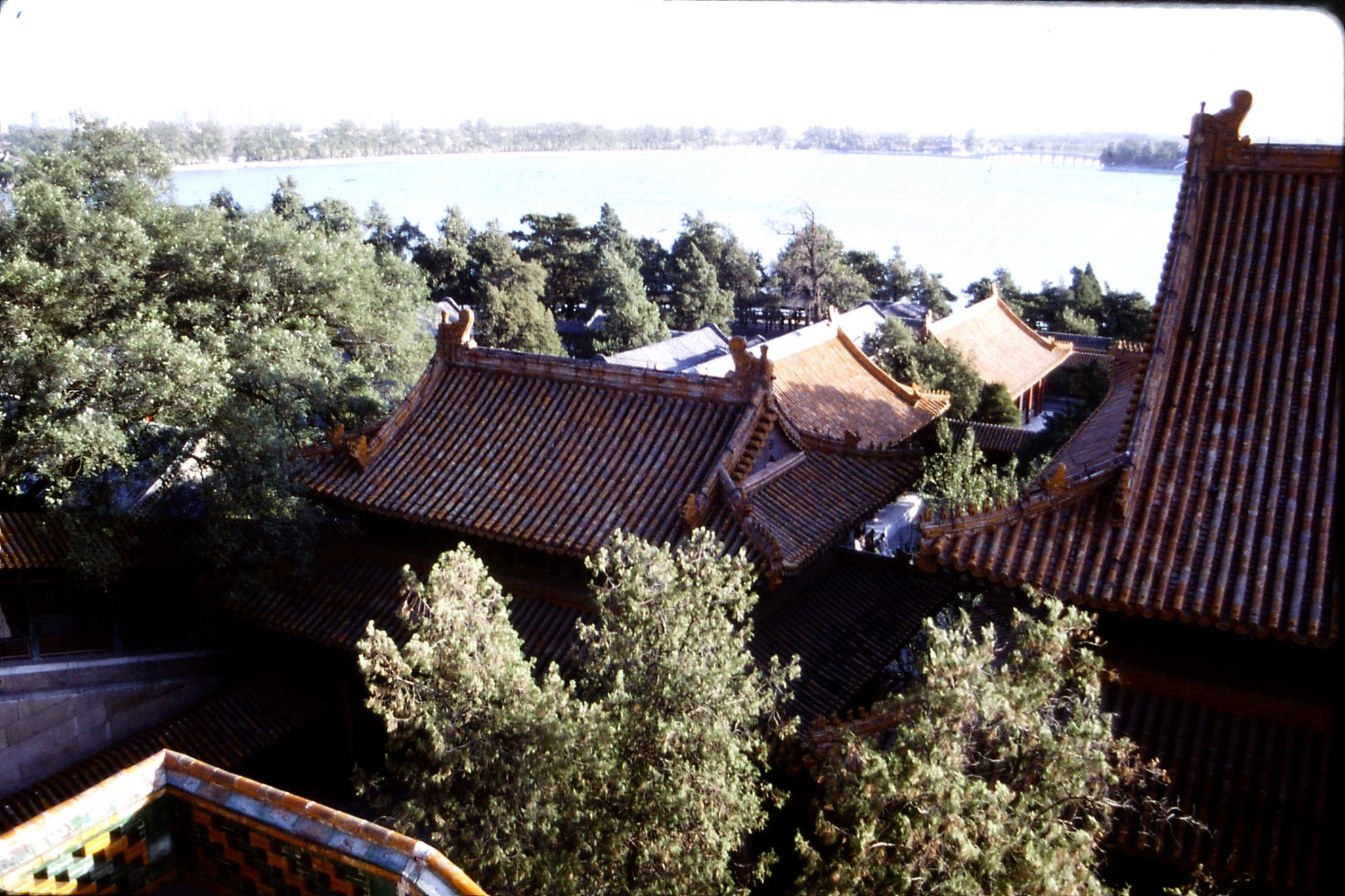 1/11/1988: 11: Summer Palace, view from Hill of Longevity