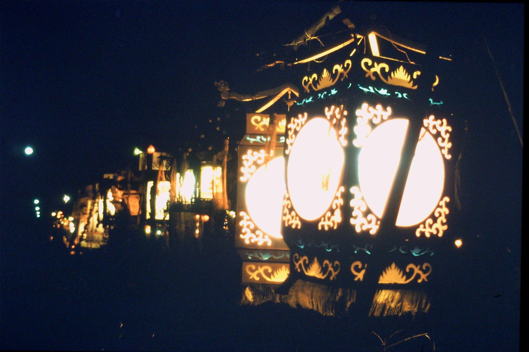 20/2/1989: 32: Qufu New Year lanterns
