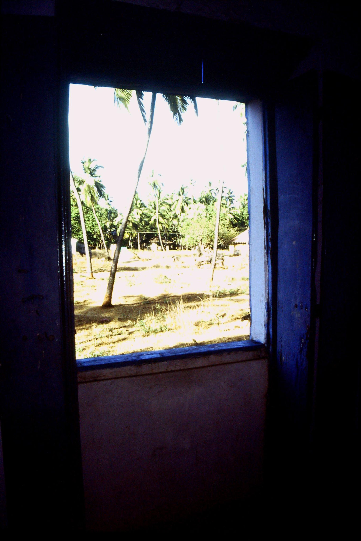 4/1/1990: 31: Goa Candolim view from our window