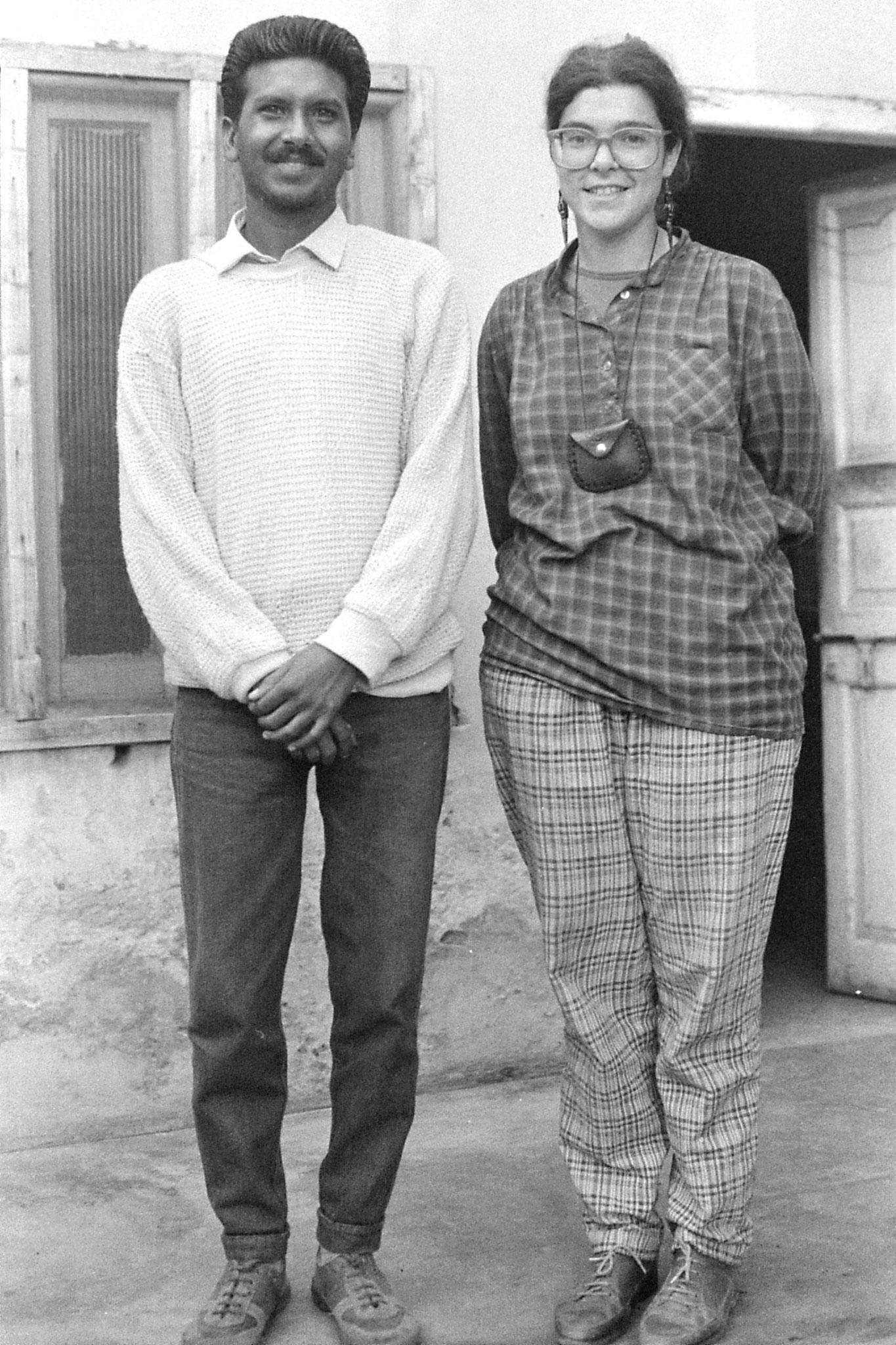 17/11/1989: 8: Amritsar, E & Paul