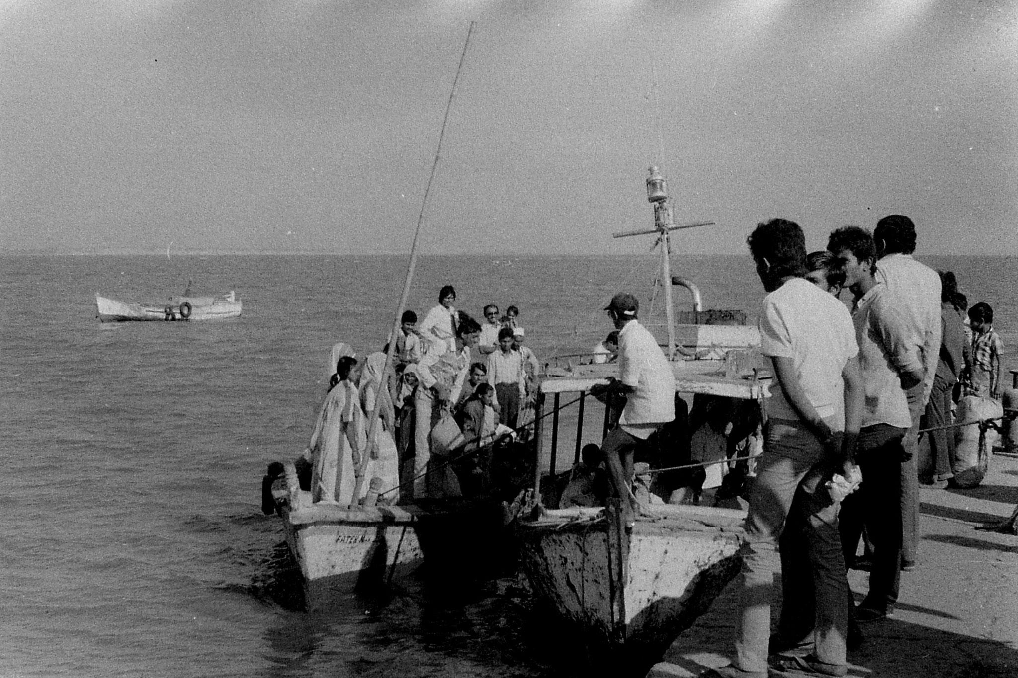 16/12/89: 14: Diu:  ferry Goghla to Diu