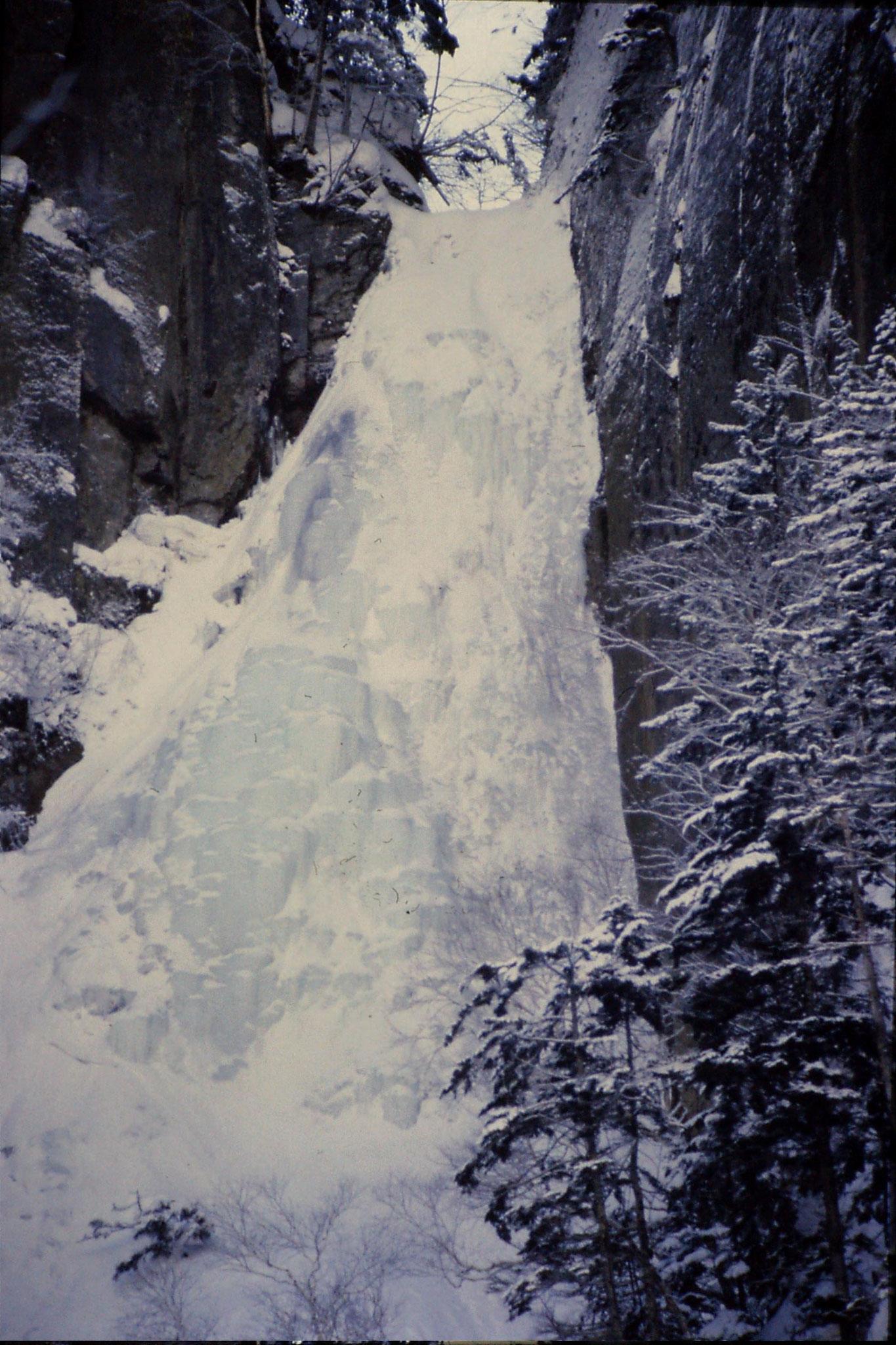 12/1/1989: 17: Sounkyo Onsen Gorge, Teusho-no-iwa
