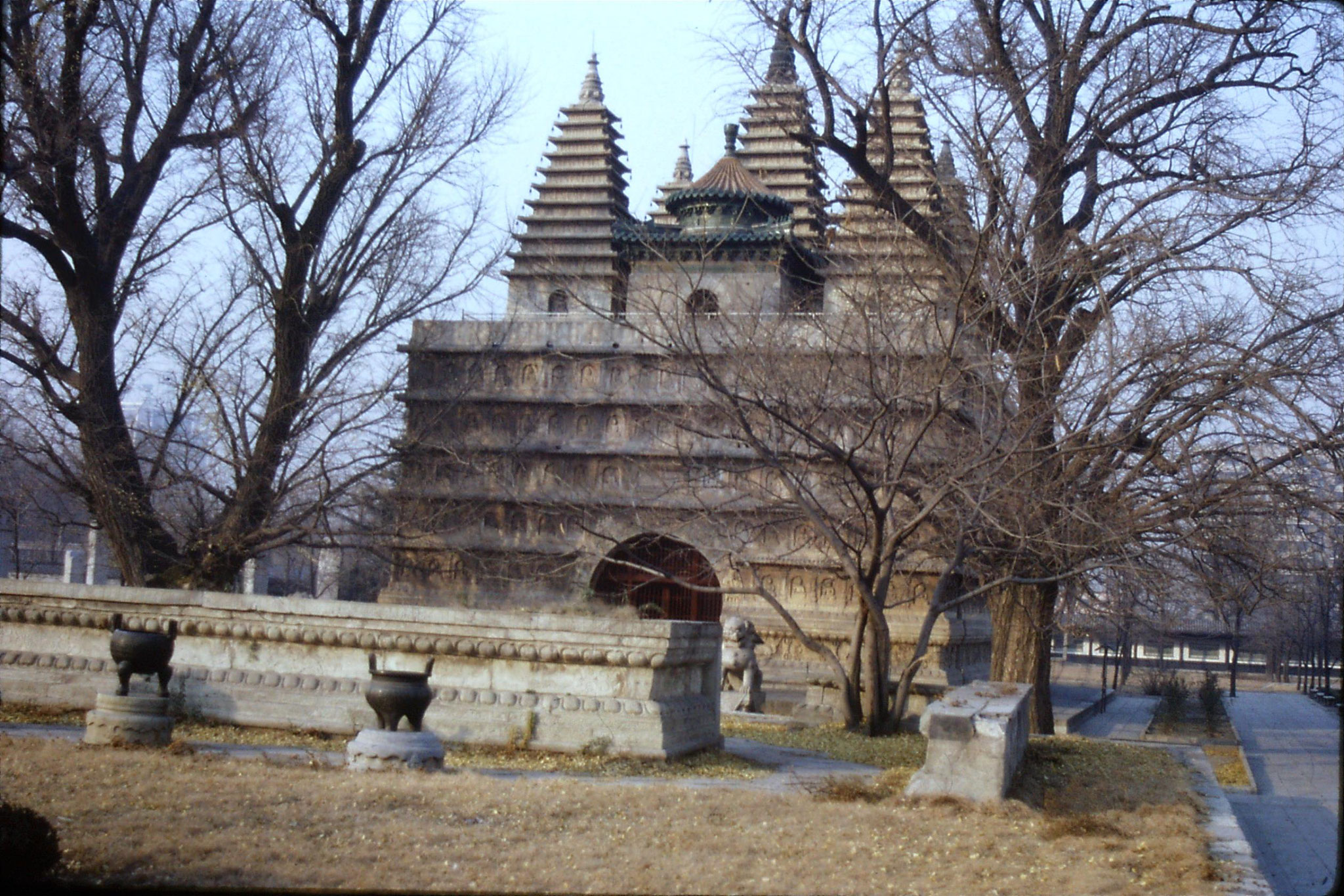 29/11/1988: 11:Wutasi Five Pagoda Temple near zoo