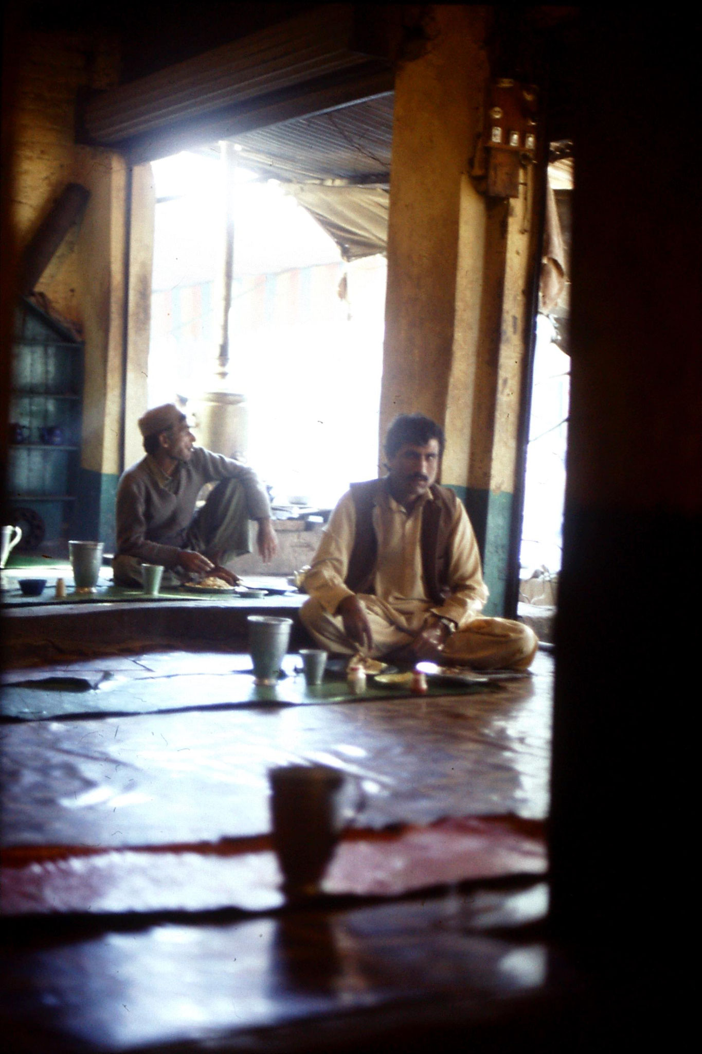 6/11/1989: 21: Afghan restaurant