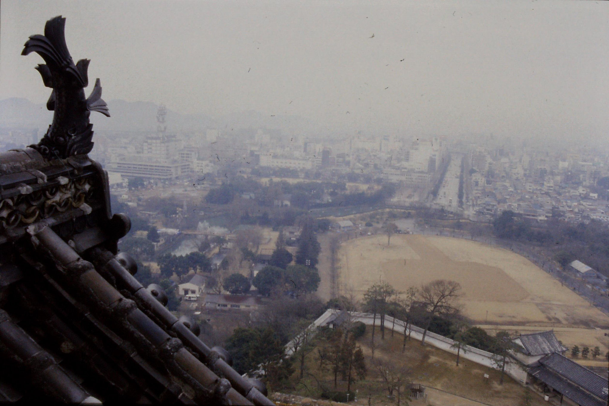 18/1/1989: 31: view from Himeji castle