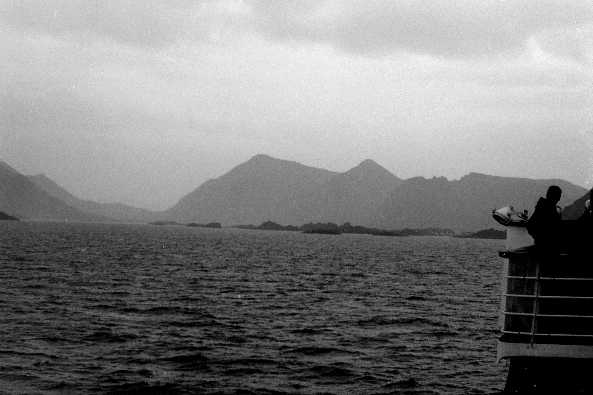 24/9/1988: 18: approaching Lofoten Is.