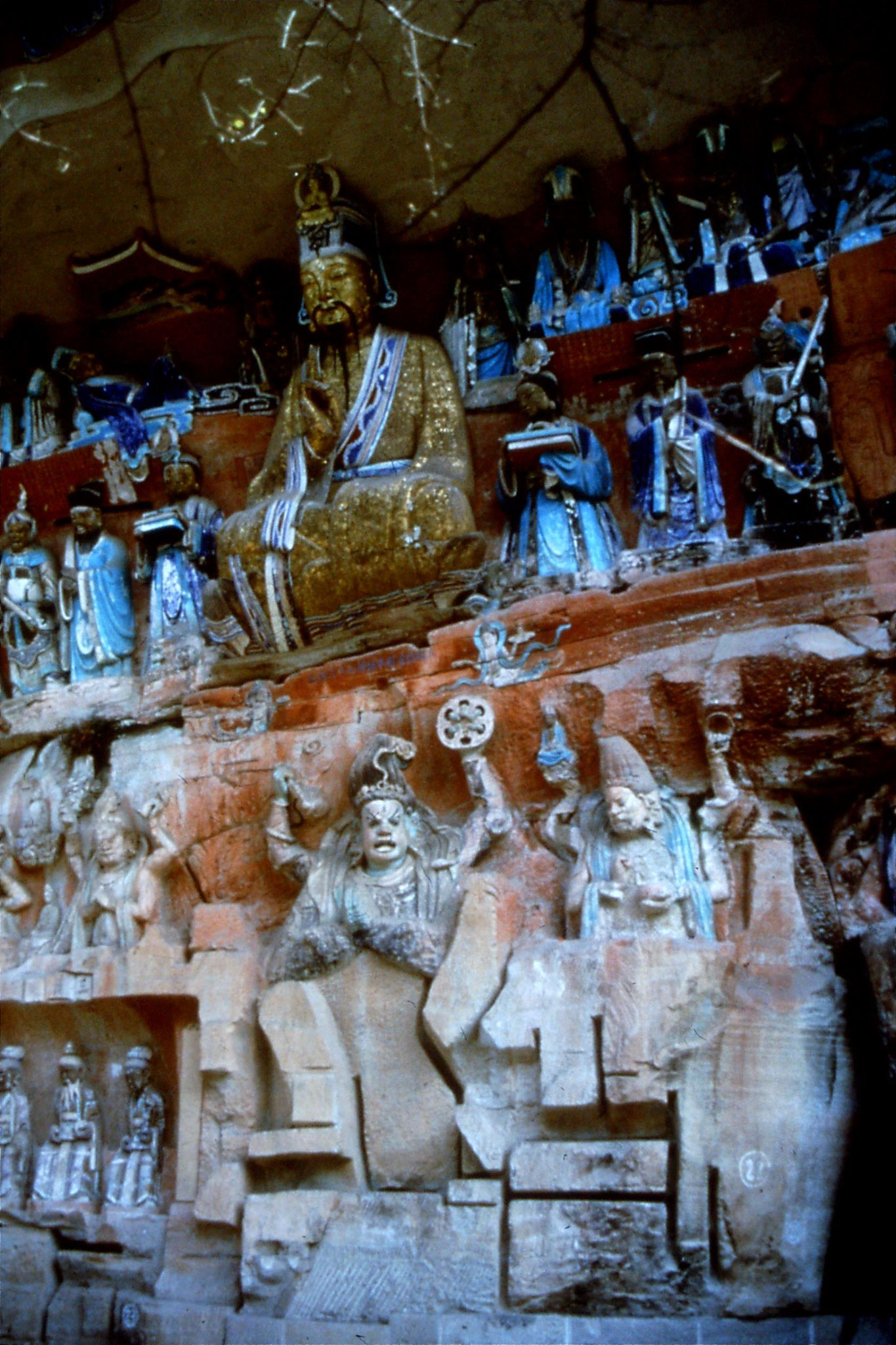 24/7/1989: 13: Putuo, Guanyin frieze