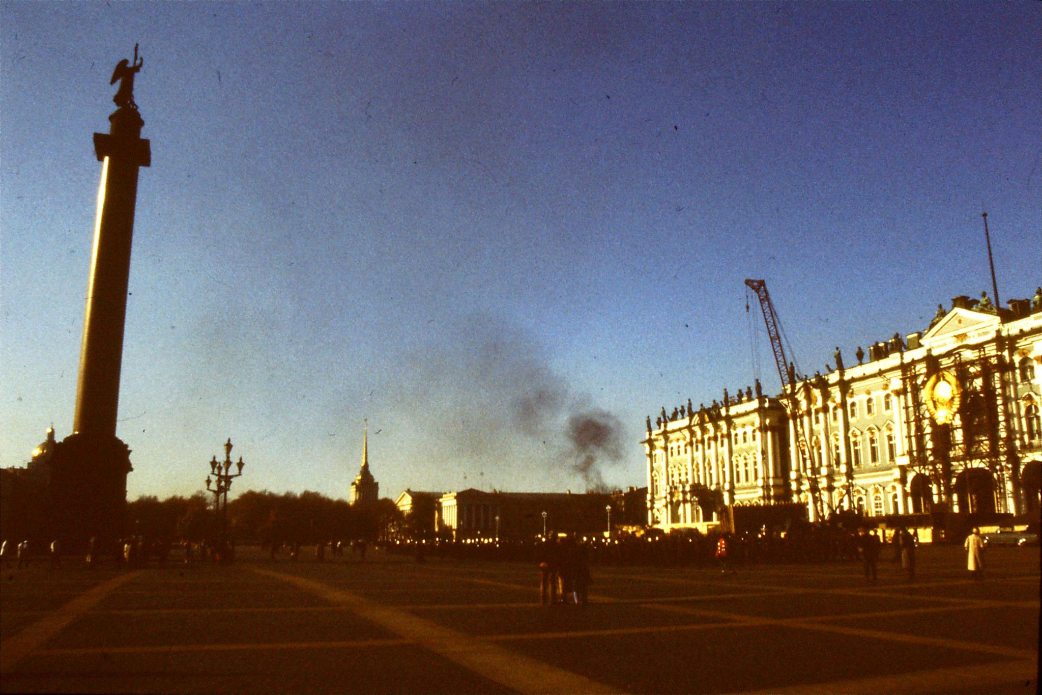 13/10/1988: 15: Leningrad band in front of Hermitage