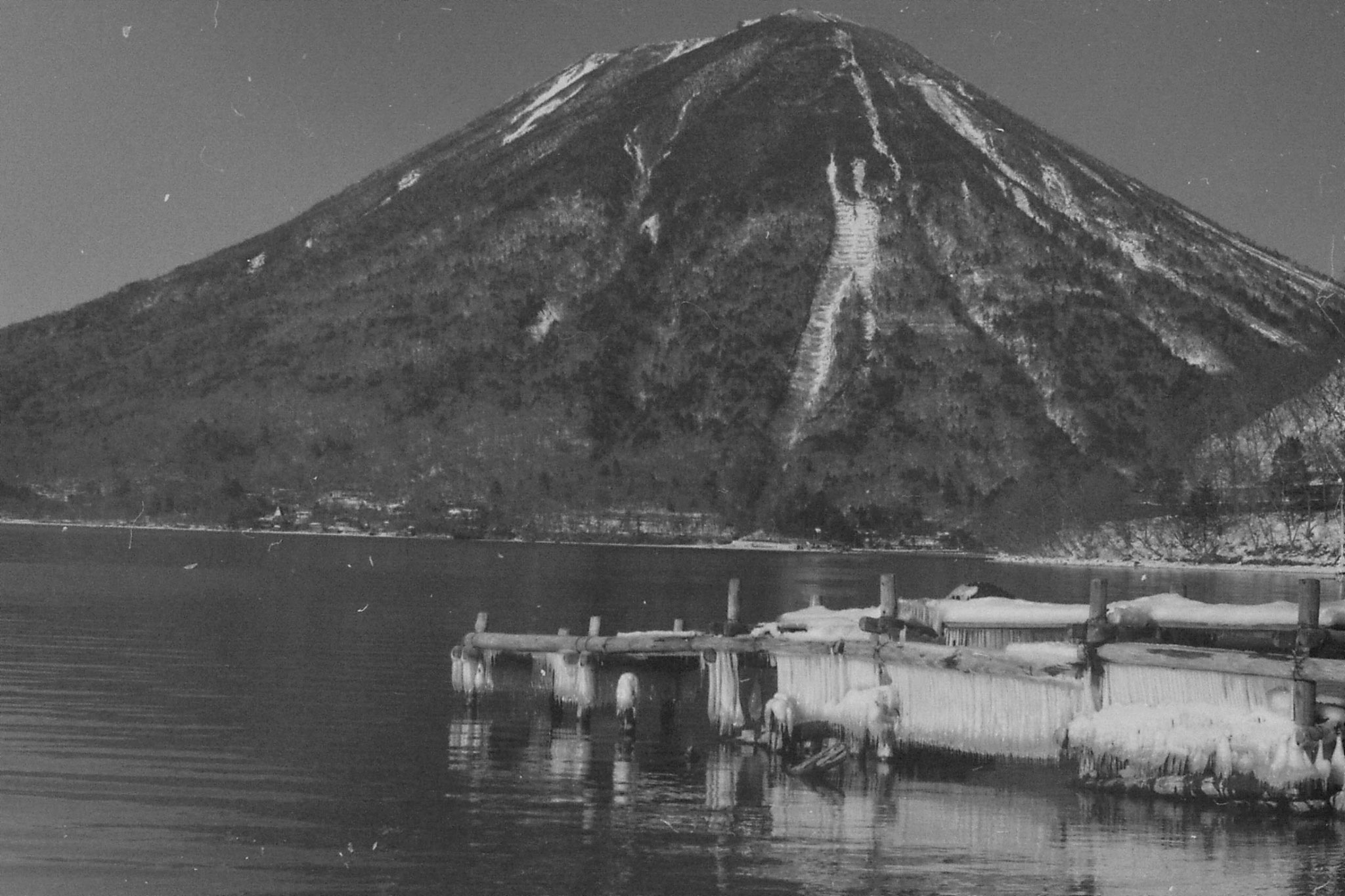 30/1/1989: 35:Mt Nantai & Lake Chusenji
