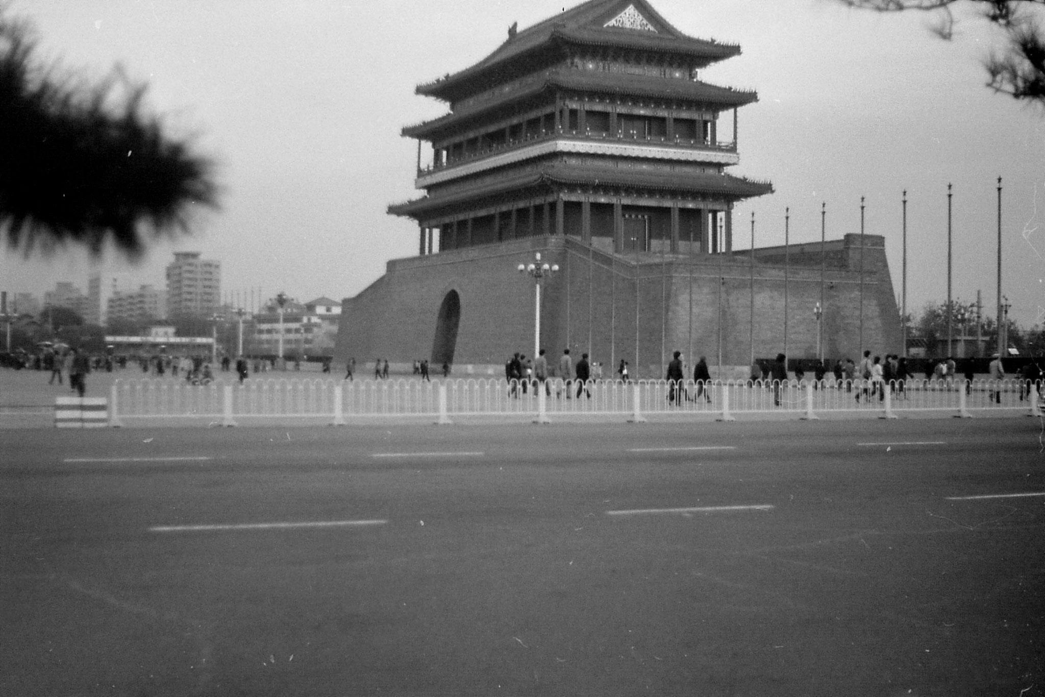 14/11/1988: 23:  Tiananmen Square