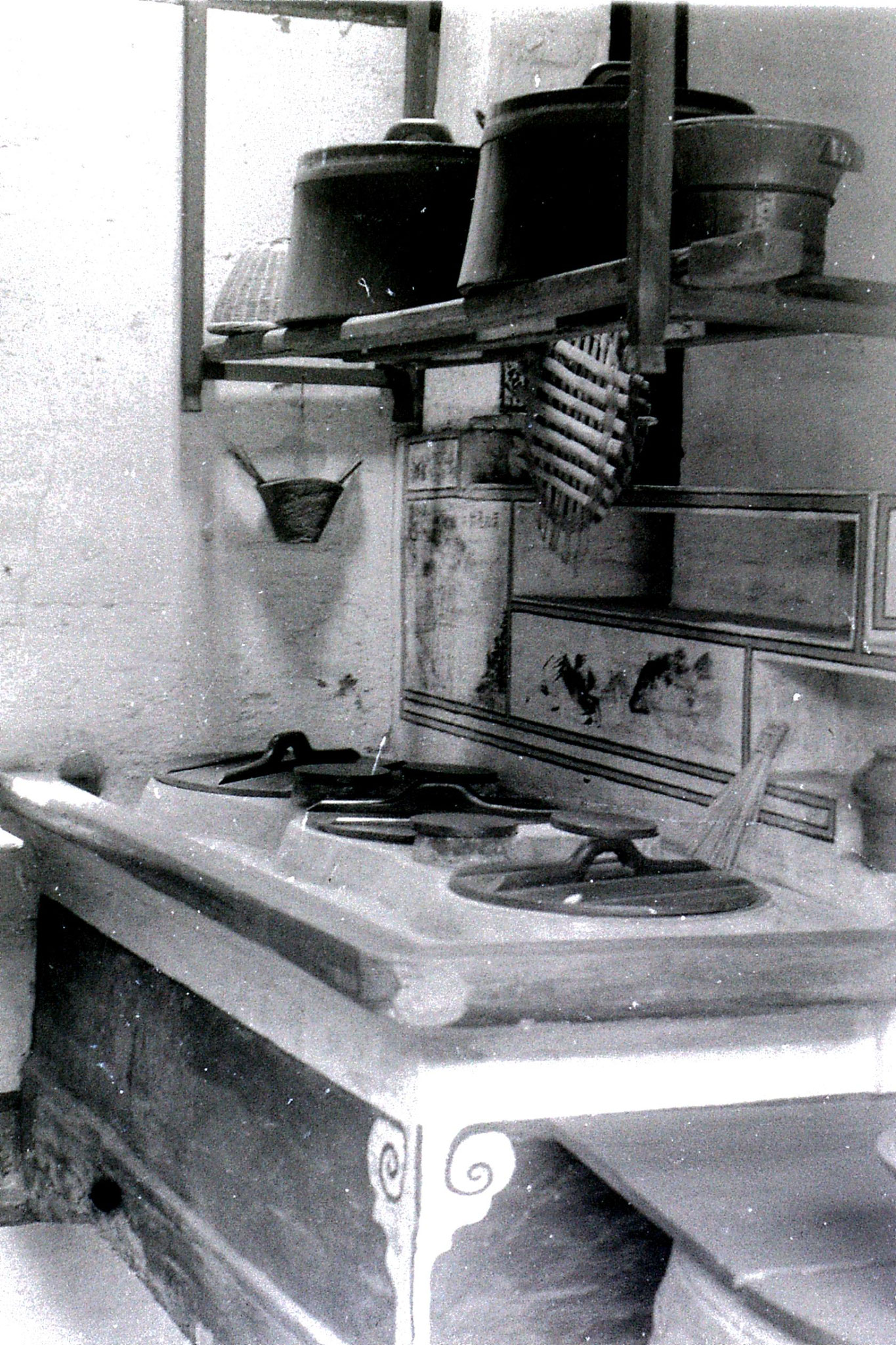 27/6/1989: 35: Shaoxing, Lu Xun's kitchen