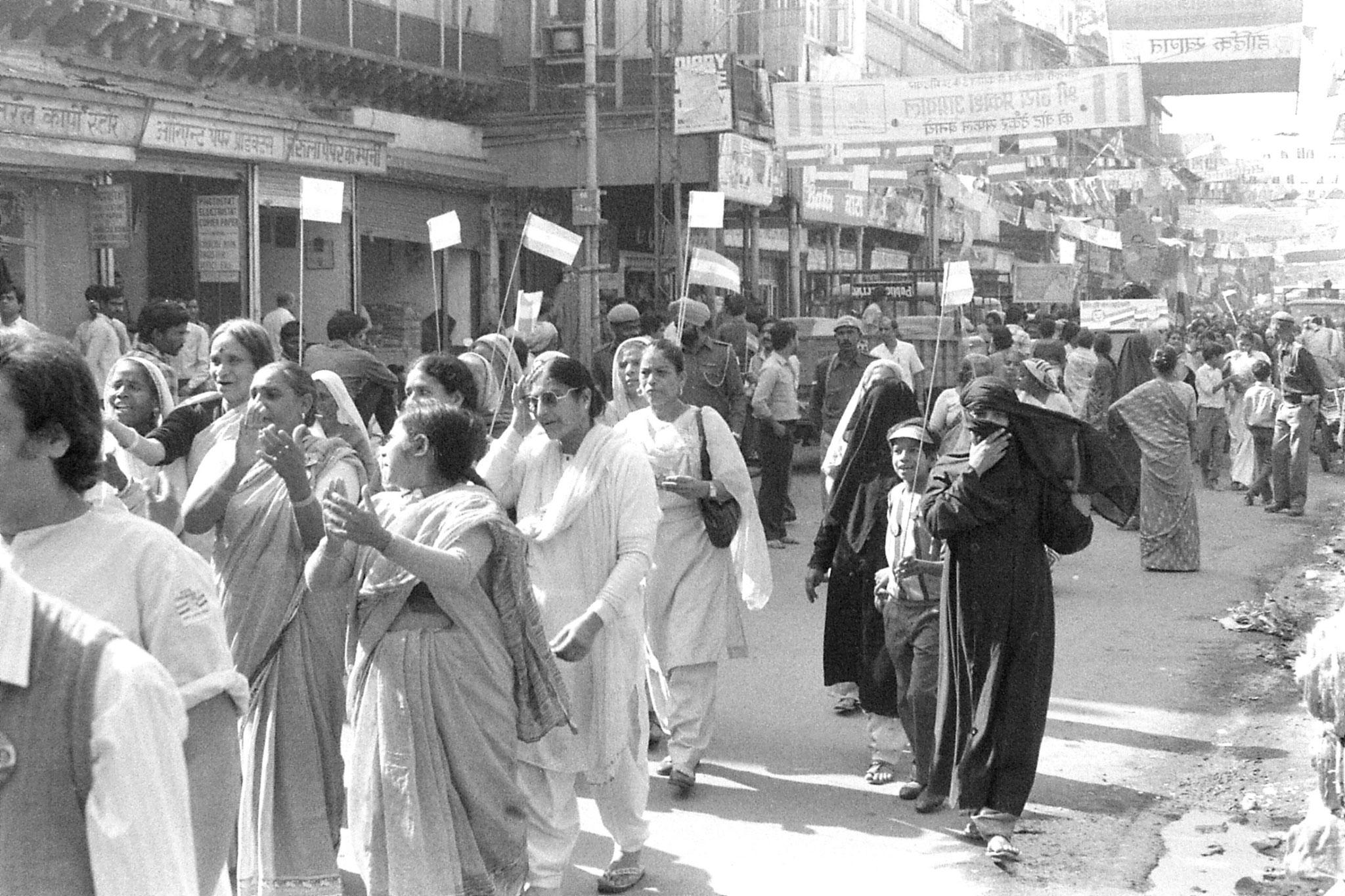 20/11/1989: 13: New Delhi Congress (I) supporters