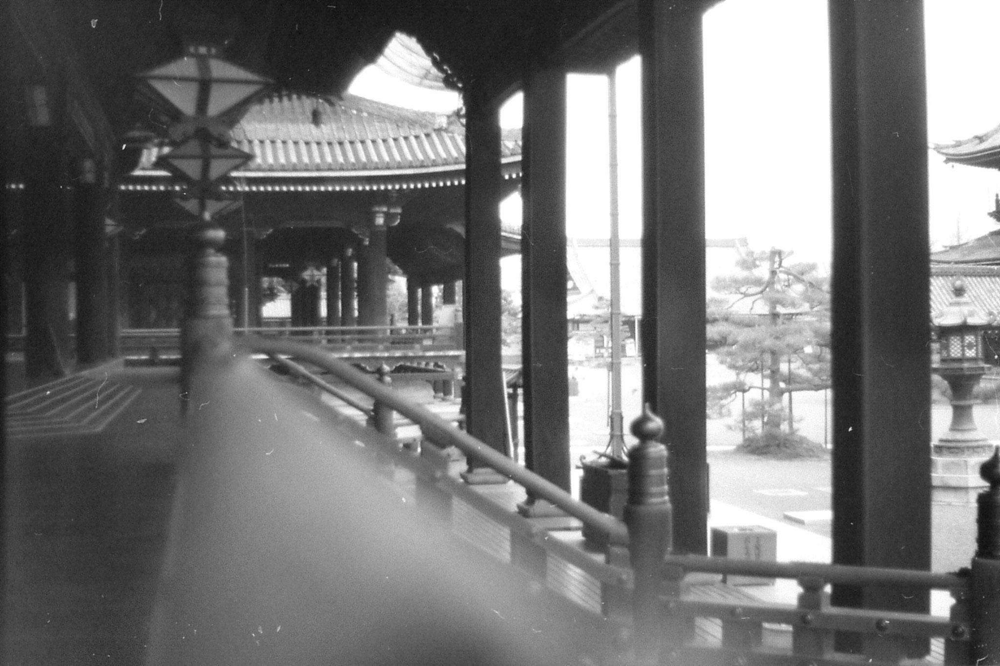26/1/1989: 3: Kyoto,, Higashi, Honganji temple
