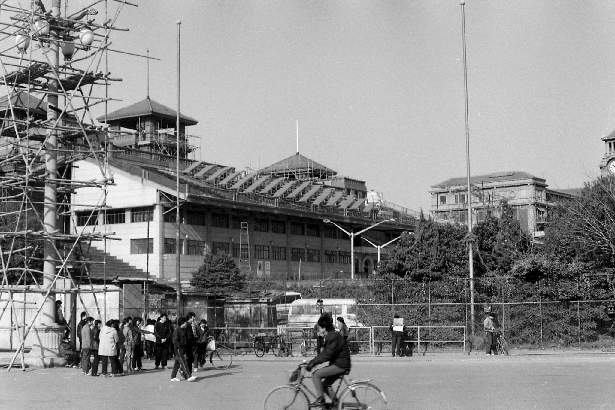 15/12/1988: -1: Shanghai, race course stands