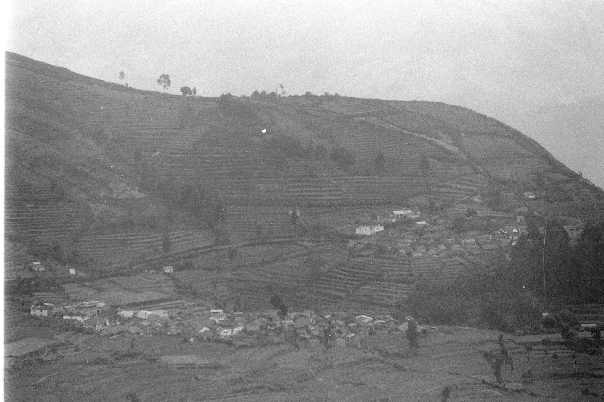 20/2/1990: 16: Vilpatti village from Kodai road