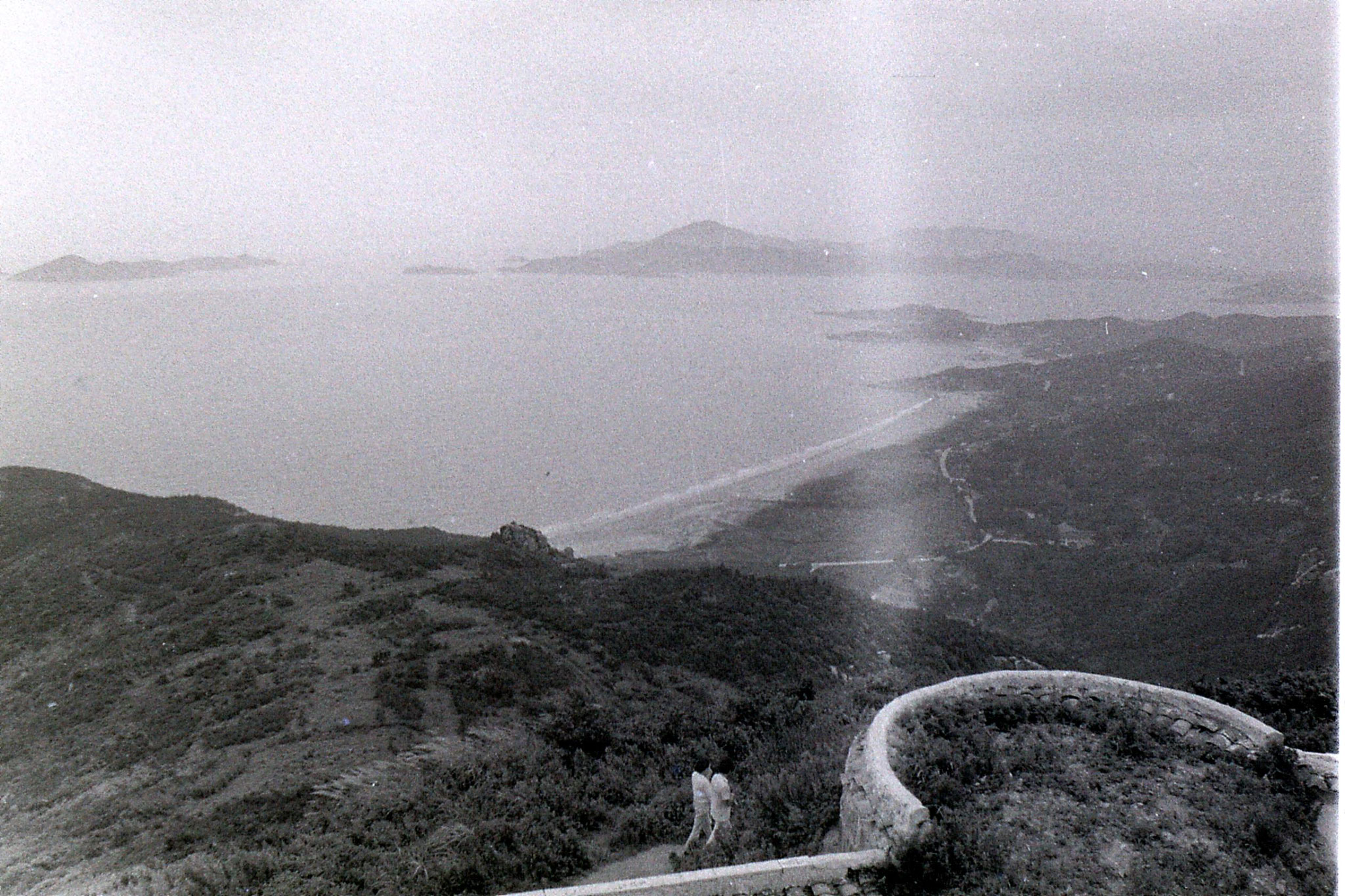 24/7/1989: 4: Putuo view S from Fading Shan